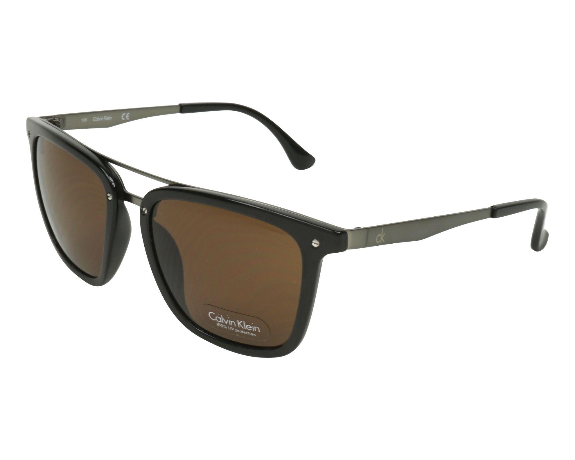 acheter des lunettes de soleil calvin klein ck 1214 s 001 visionet. Black Bedroom Furniture Sets. Home Design Ideas