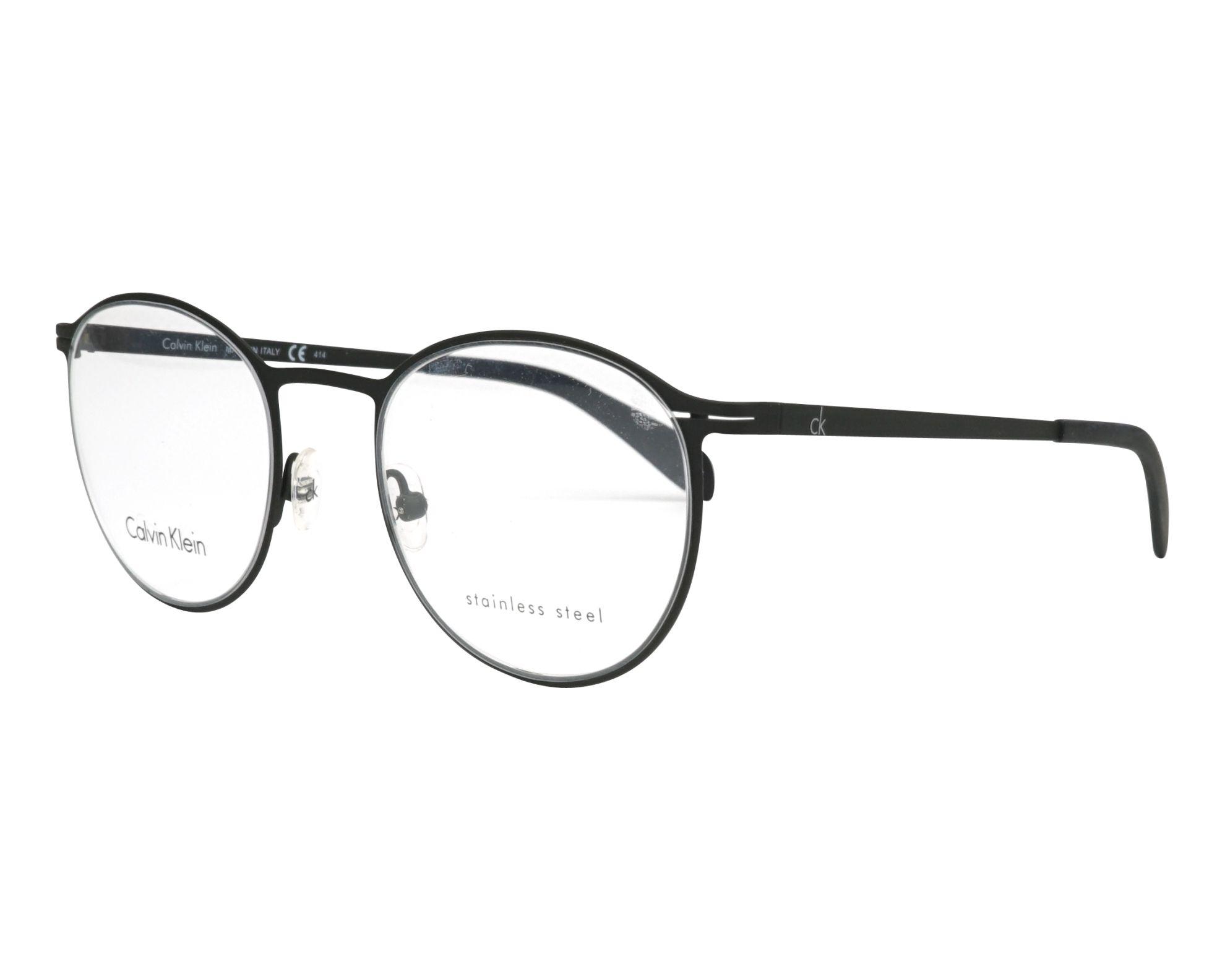 5f442bc8703fd Lunettes de vue Calvin Klein CK-5412 001 - Noir vue de profil