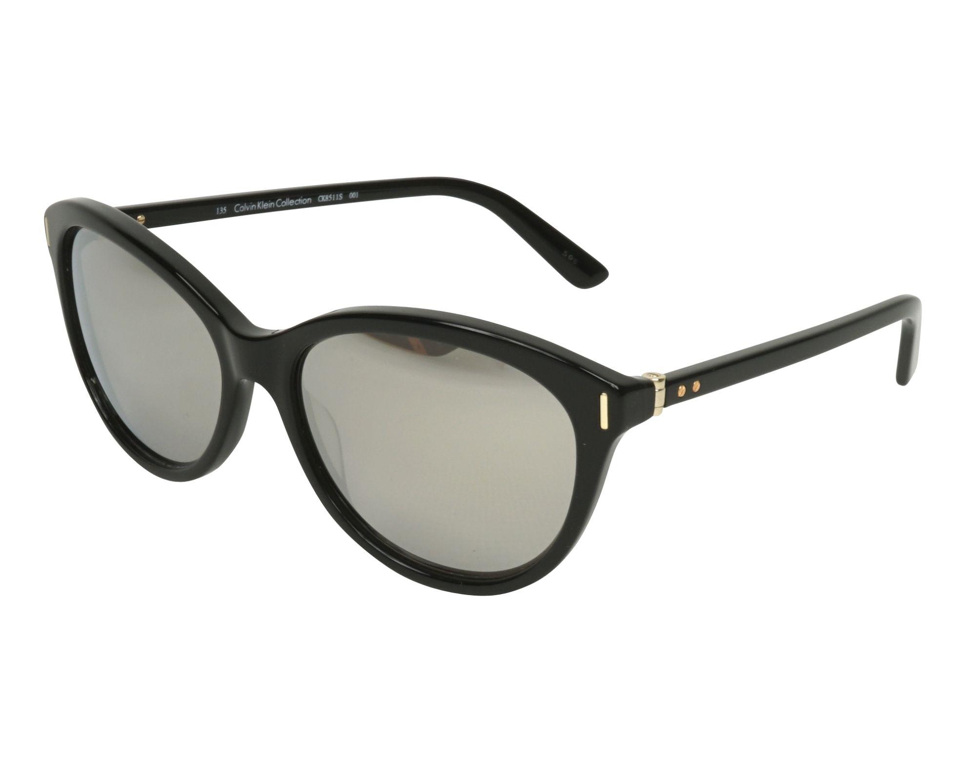 70e5d891cce Lunettes de soleil Calvin Klein CK-8511-S 001 57-16 Noir Or