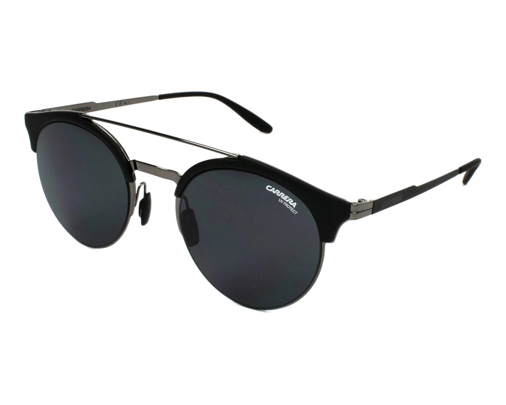 lunettes de soleil carrera carrera 141 s kj1 ir noir avec des verres gris pour mixte. Black Bedroom Furniture Sets. Home Design Ideas