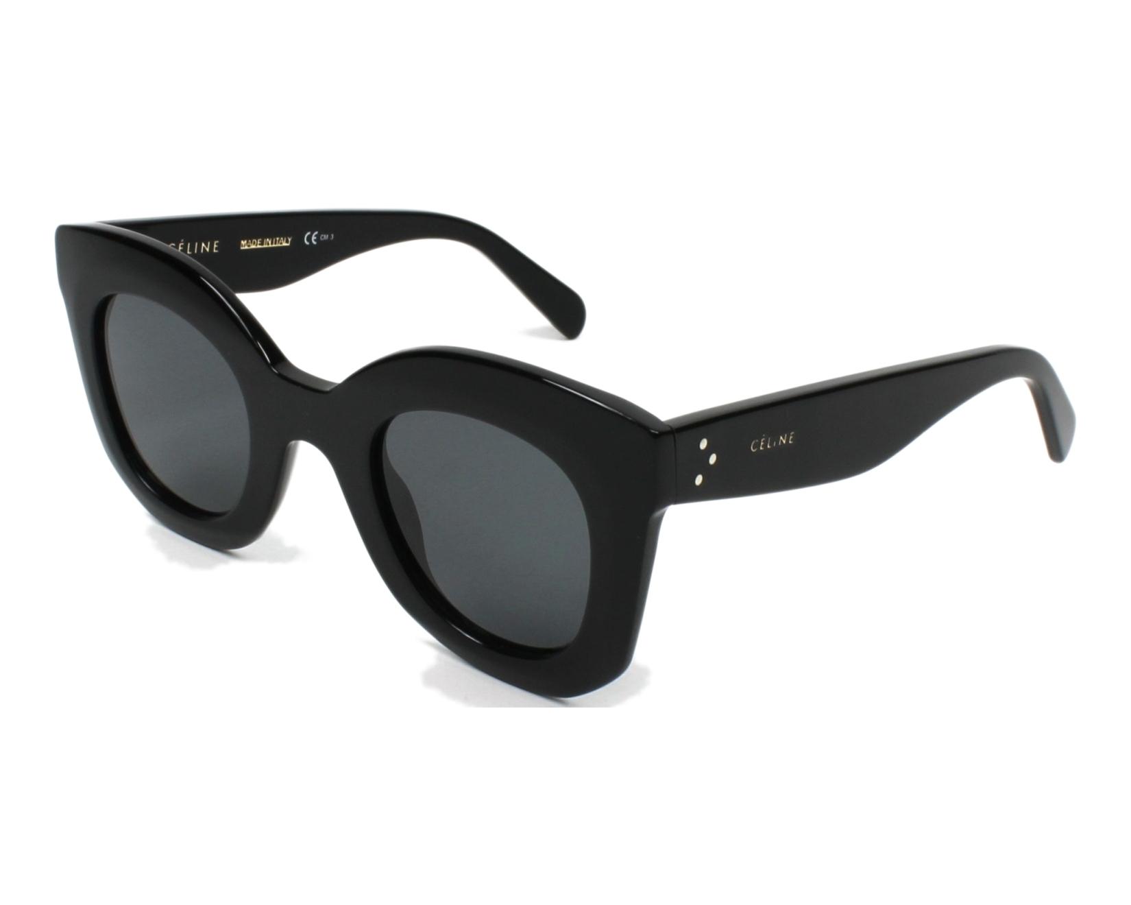 d59e3fa37d80 Céline Sunglasses CL-41393-S 807 BN Black - Visionet Celine Baby Marta  Sunglasses ...