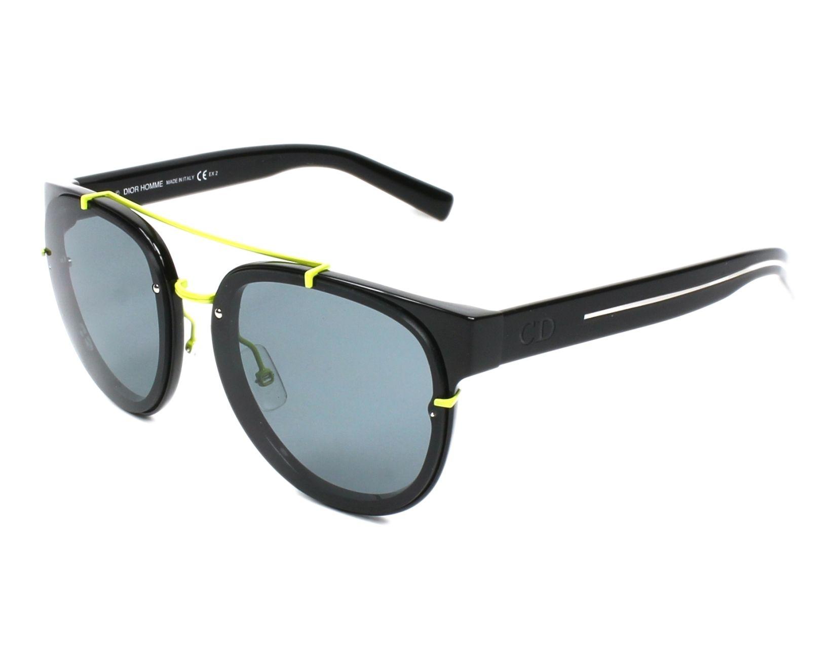 Lunettes de soleil Christian Dior BLACKTIE-143-S E3Z 24 - Noir Jaune a7b2293f24b7