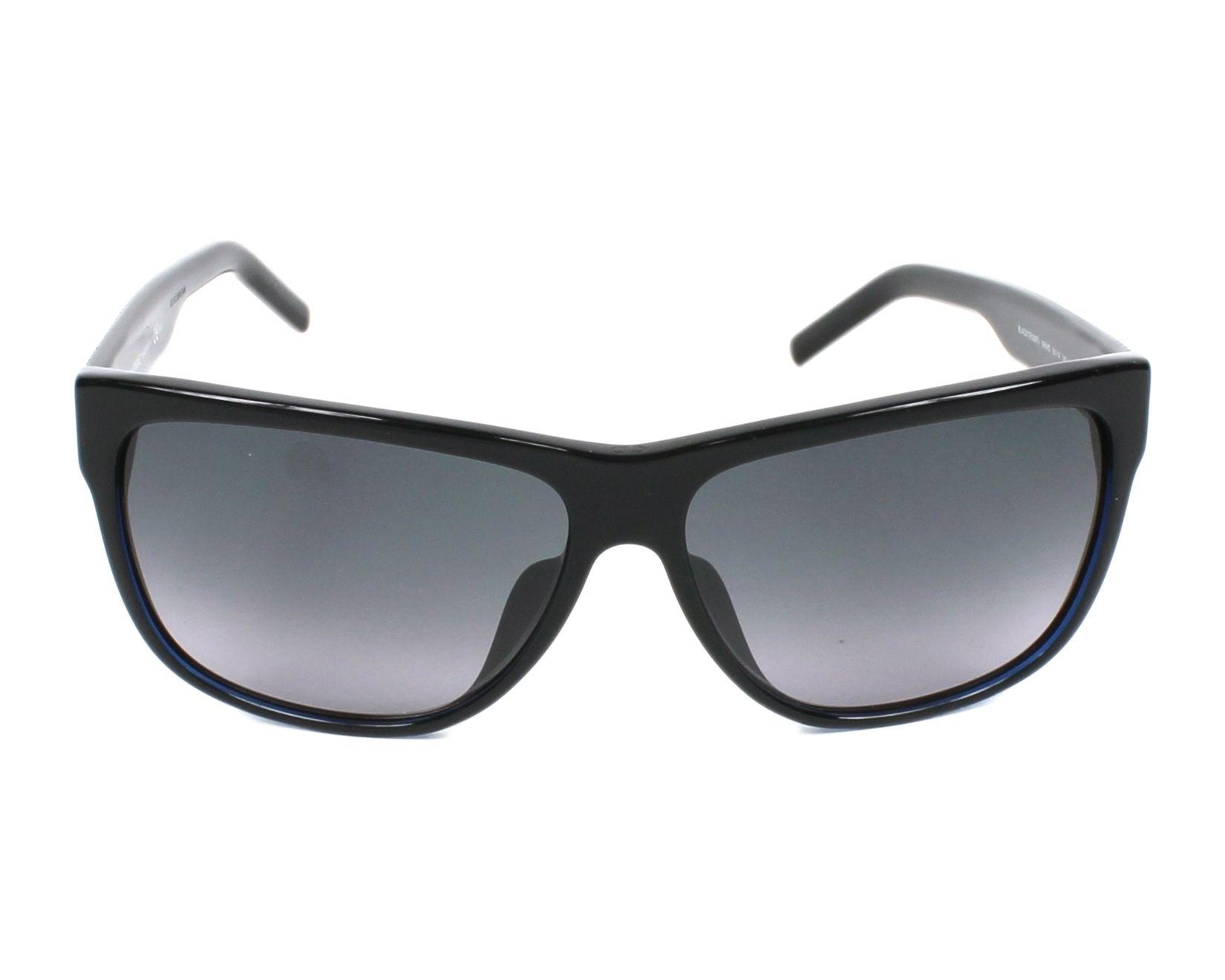 Lunettes de soleil christian dior blacktie 188 fs 98k hd noir avec des verres gris - Verre lunette raye assurance ...