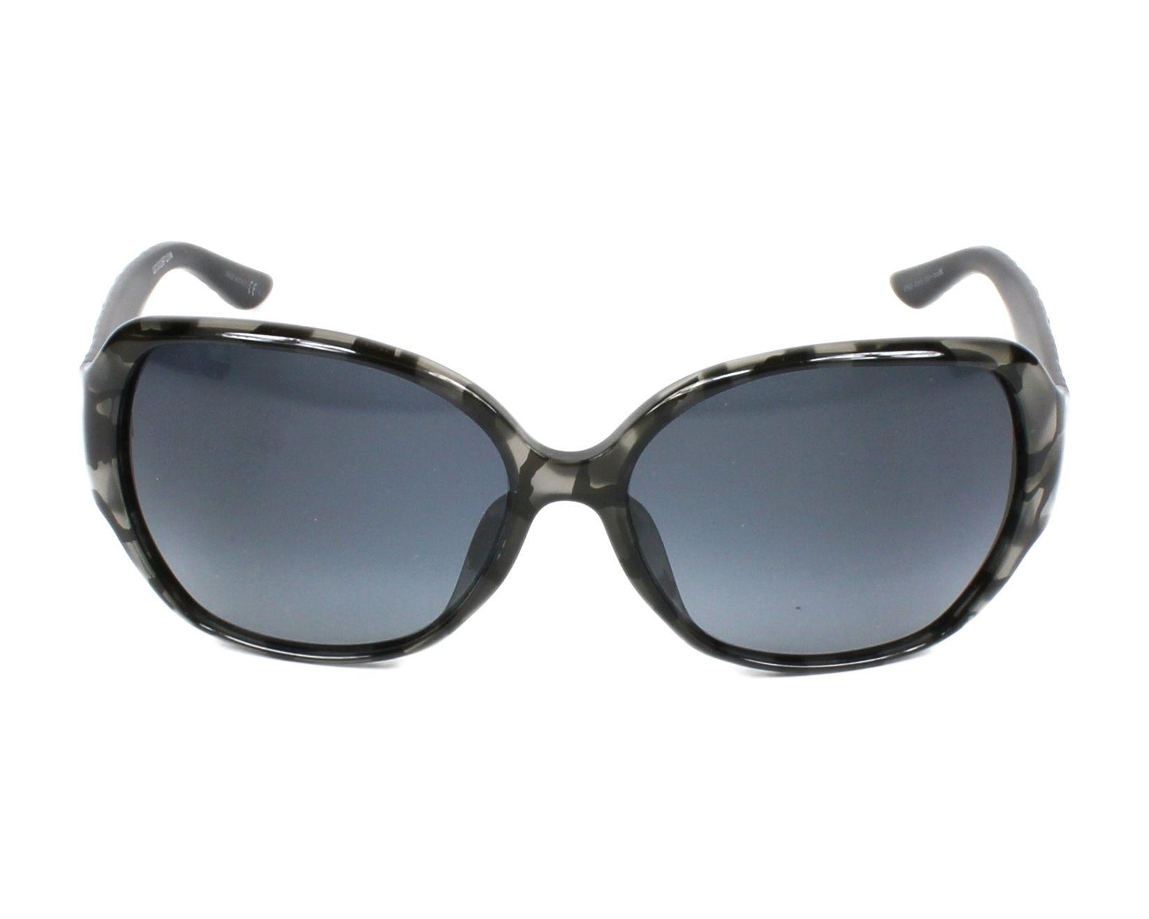Lunettes de soleil christian dior diorfrissonf kf9 hd gris avec des verres bleu gris - Verre lunette raye assurance ...