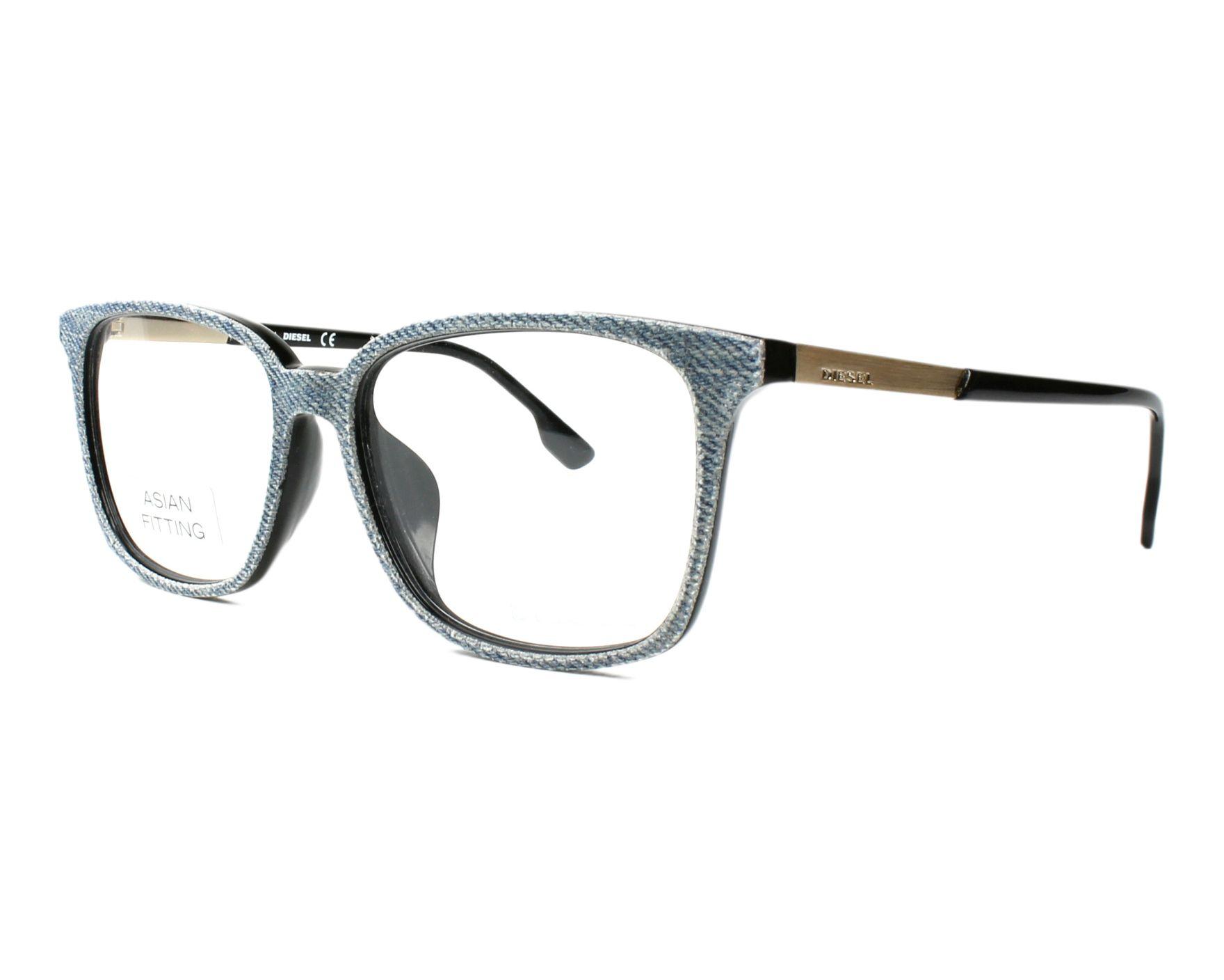 lunettes de vue de diesel en dl 5116 f 002. Black Bedroom Furniture Sets. Home Design Ideas