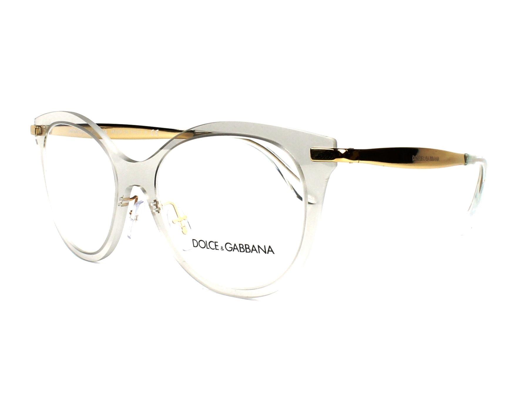 lunettes de vue dolce gabbana dg 1292 3073 cristal. Black Bedroom Furniture Sets. Home Design Ideas