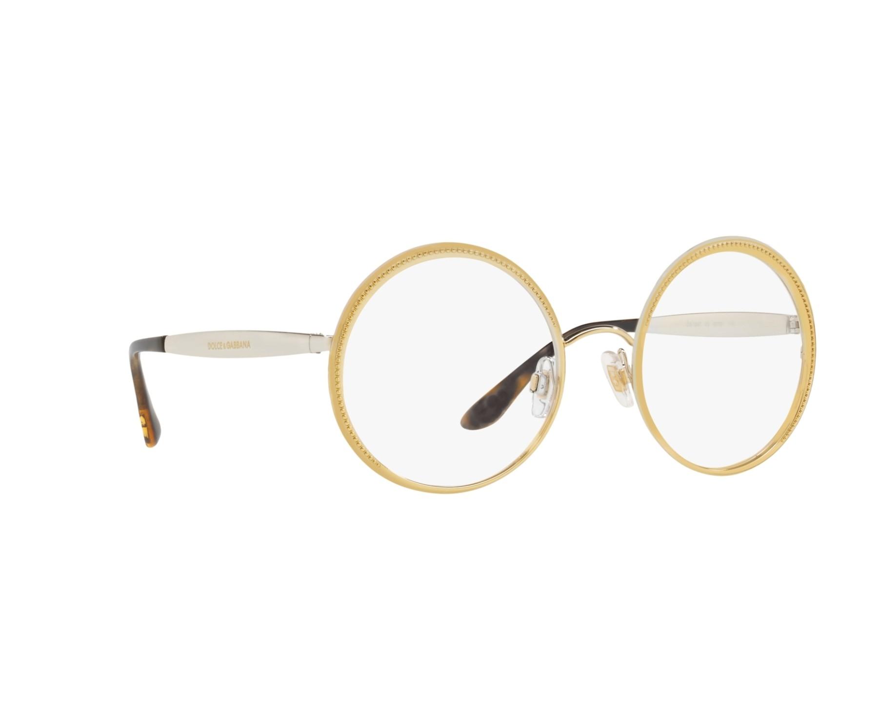 dolce gabbana brille dg 1297 02 gold visionet. Black Bedroom Furniture Sets. Home Design Ideas