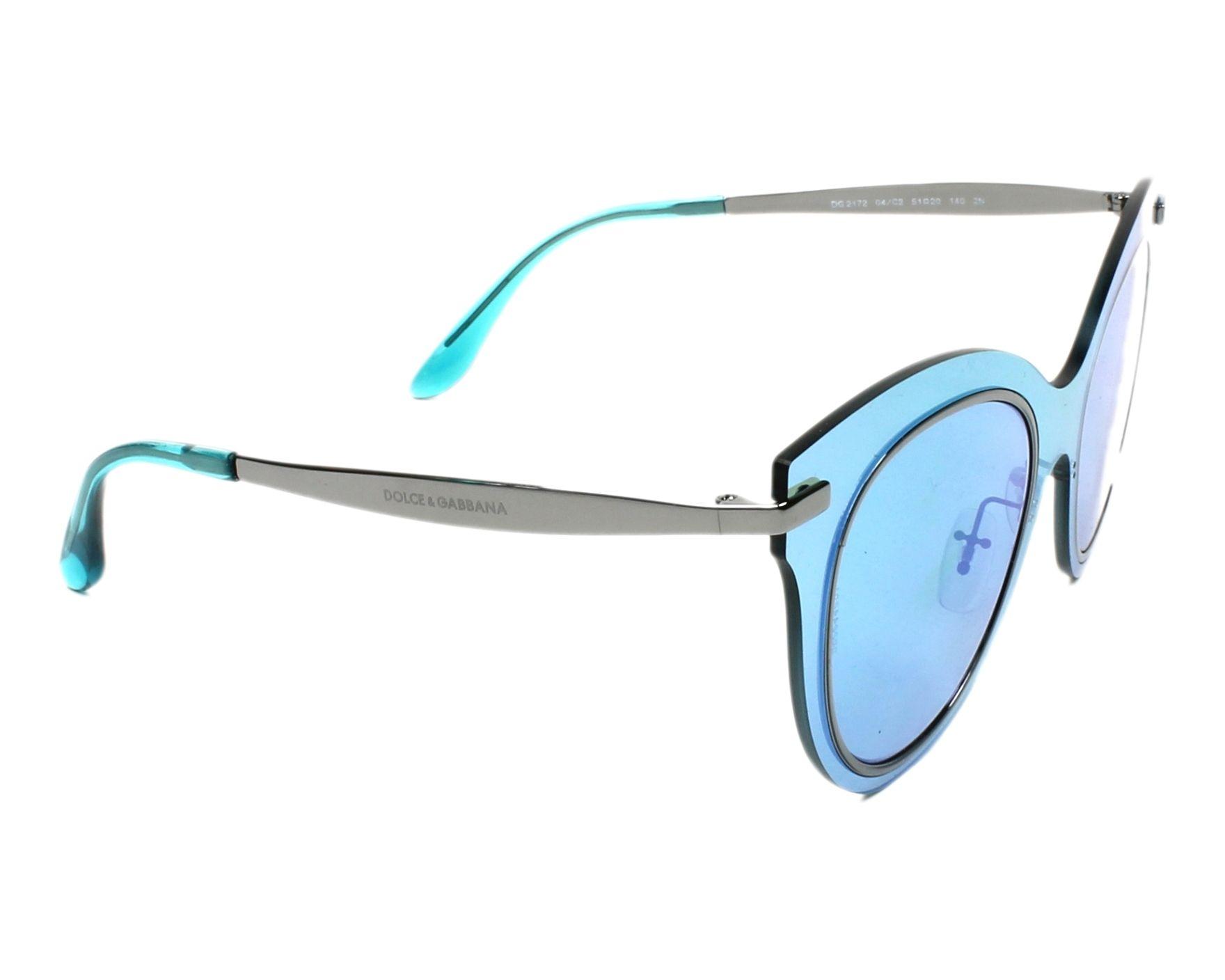 dolce gabbana sunglasses dg 2172 04 c2 gun visionet. Black Bedroom Furniture Sets. Home Design Ideas