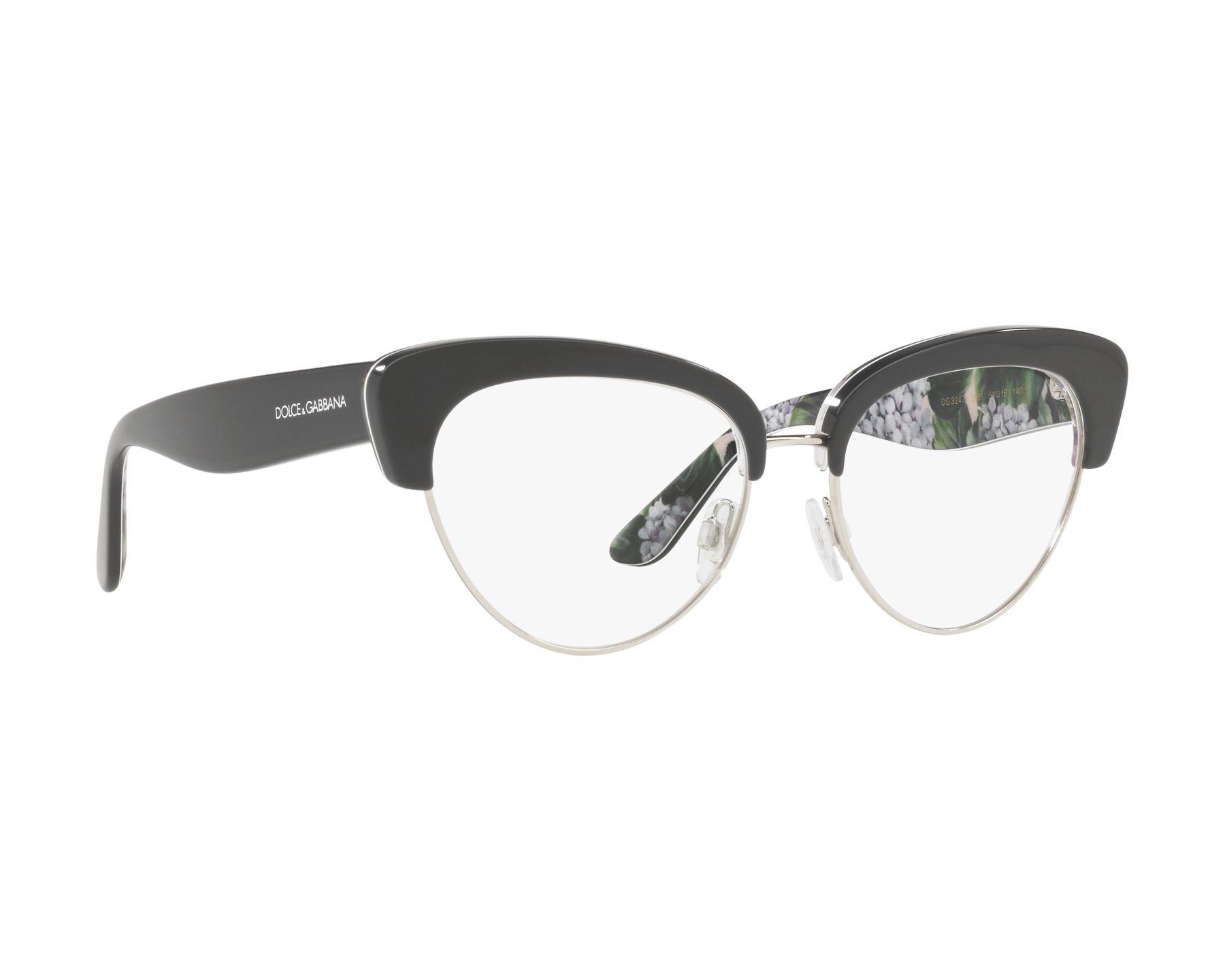 dolce gabbana brille dg 3247 3161 grau visionet. Black Bedroom Furniture Sets. Home Design Ideas
