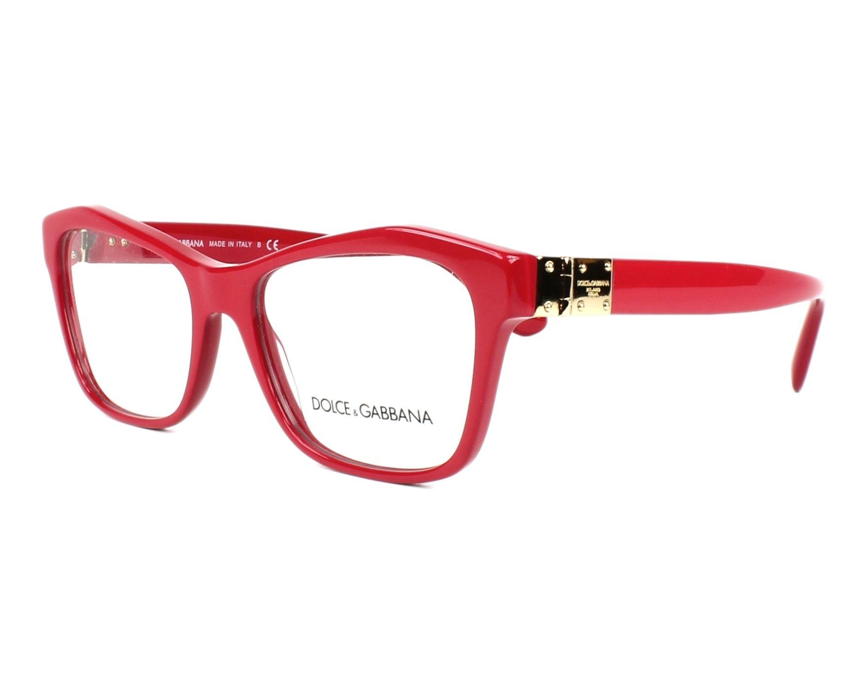 lunettes de vue dolce gabbana dg 3273 3097 fuchsia. Black Bedroom Furniture Sets. Home Design Ideas