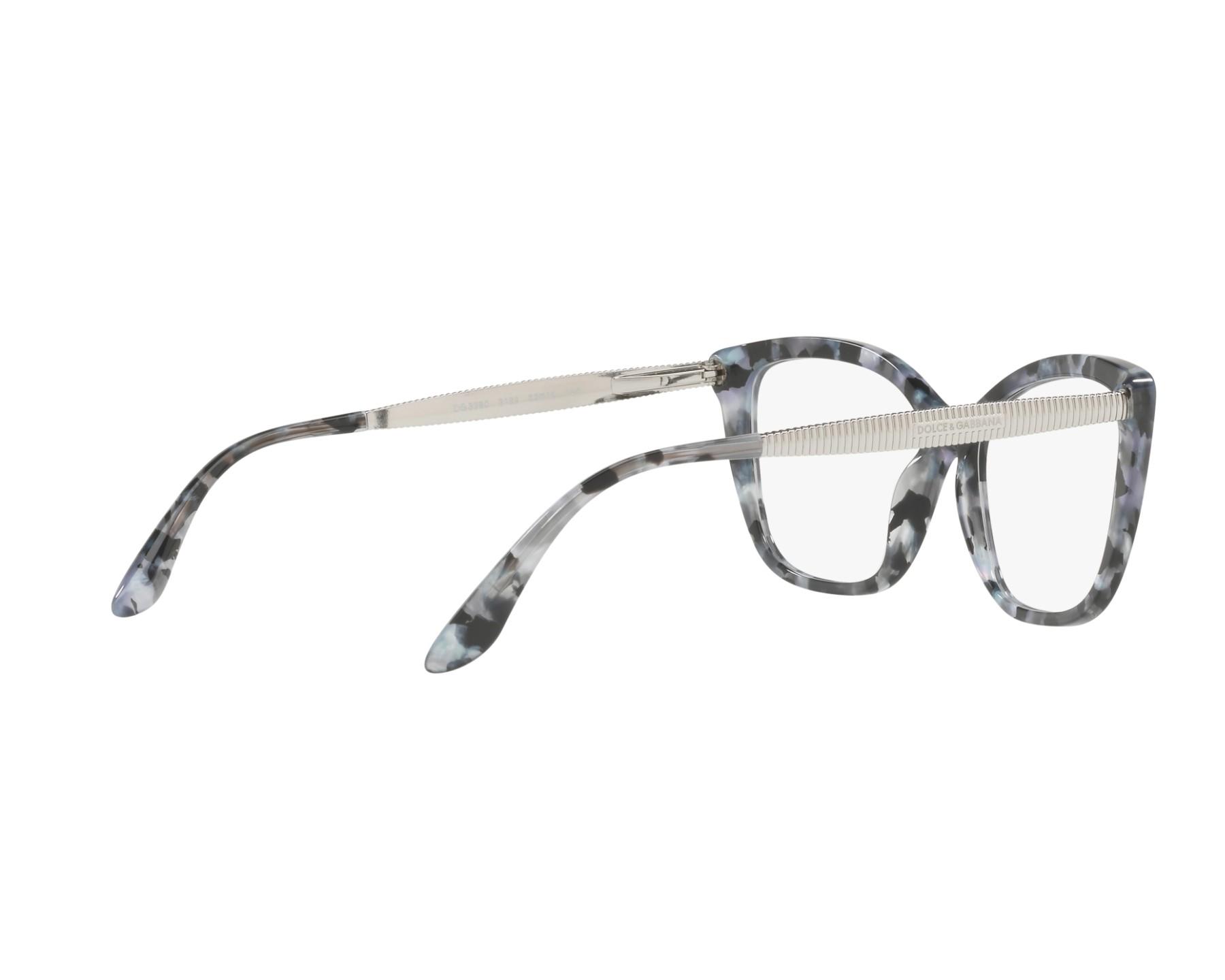0c07a27b04b Dolce   Gabbana Eyeglasses DG-3280 3132 Black
