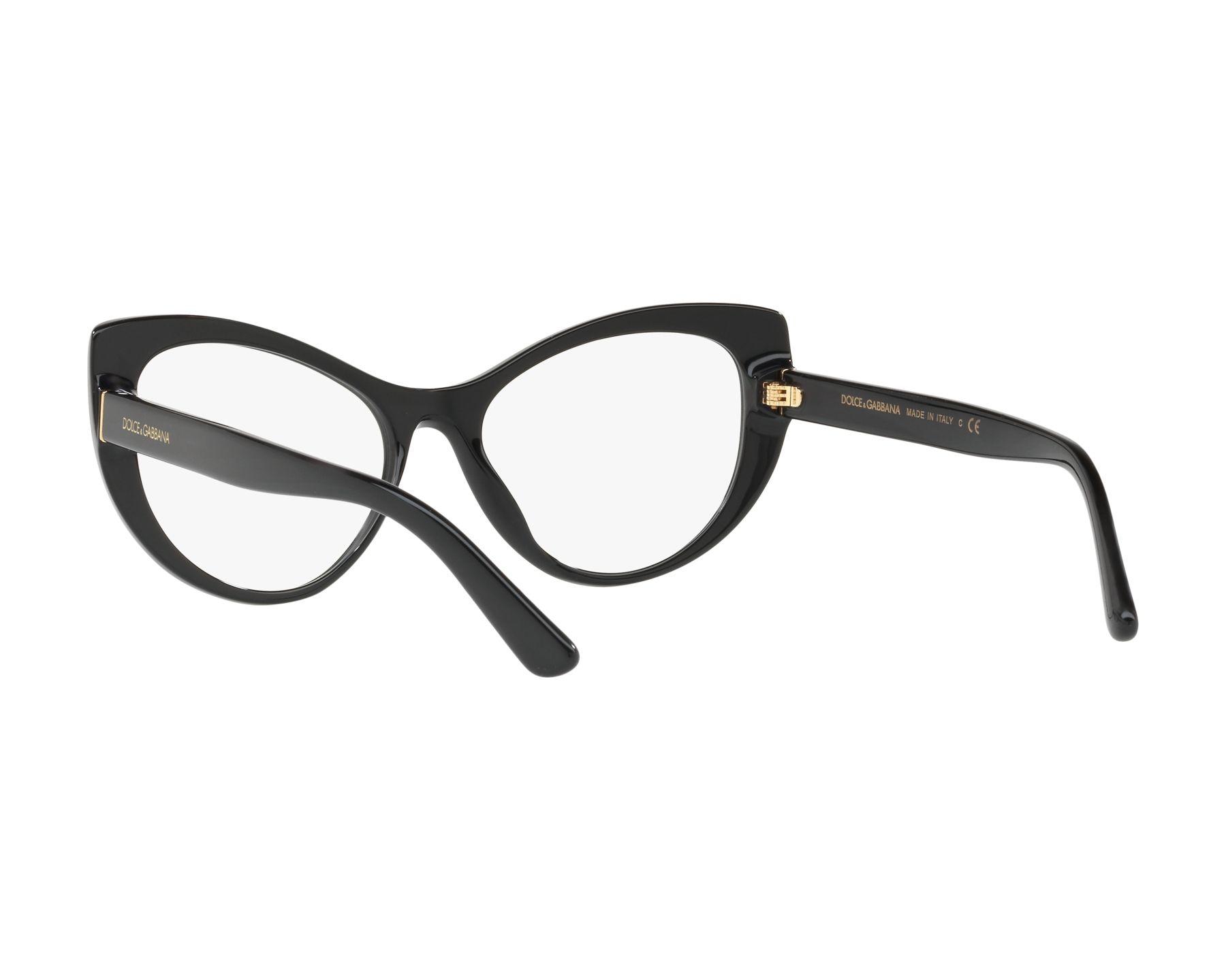 Dolce Amp Gabbana Eyeglasses Dg 3285 501 Black Visionet