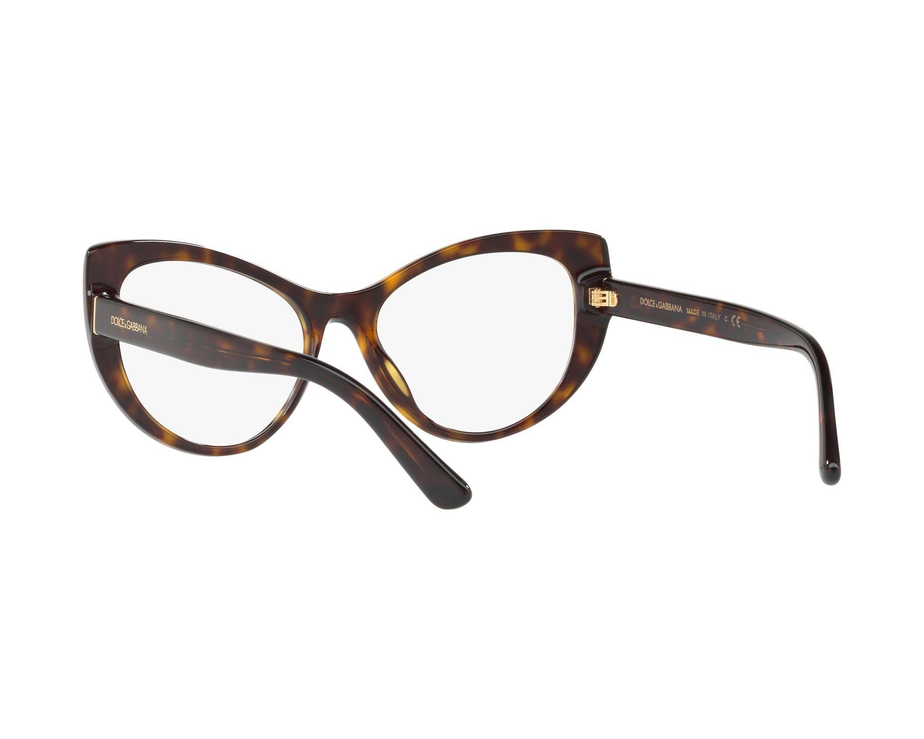 dolce gabbana brille dg 3285 502 havana visionet. Black Bedroom Furniture Sets. Home Design Ideas