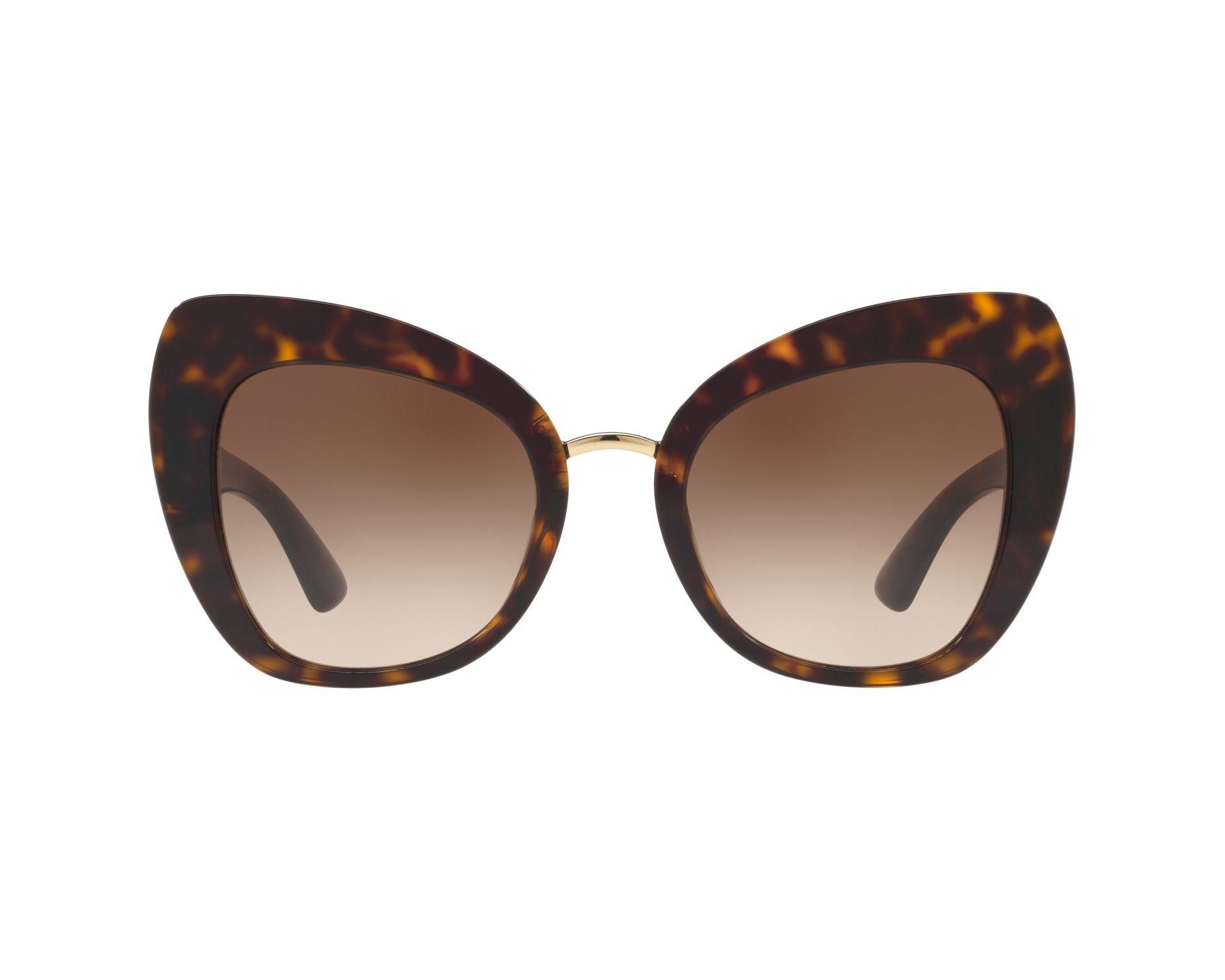 Lunettes de soleil Dolce   Gabbana DG-4319 502 13 51-22 Havane e631cd53ae4f