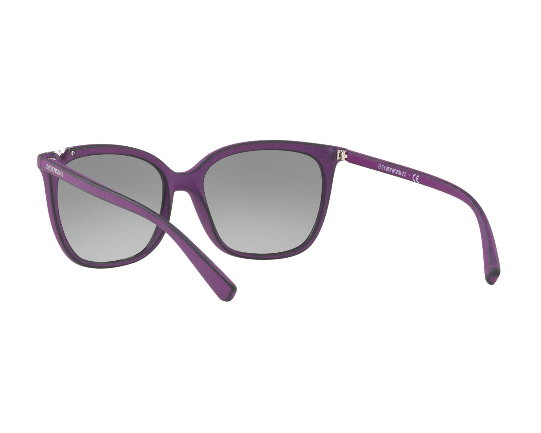 Emporio Armani EA4094 Sonnenbrille Violett 560311 56mm c9t9mYi