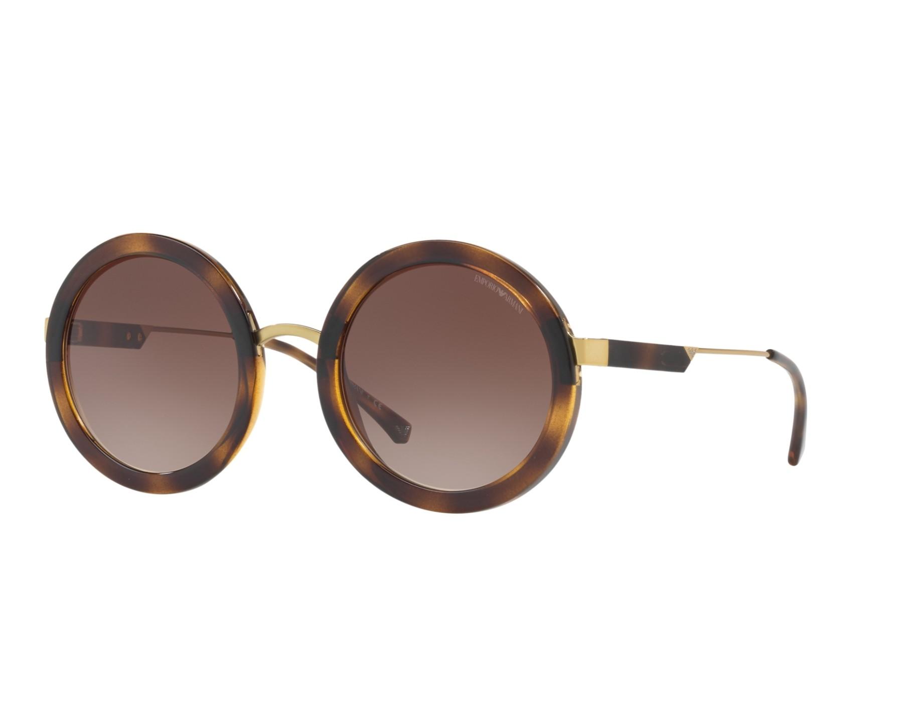 achat lunettes de soleil emporio armani ea 4106 502613 visionet. Black Bedroom Furniture Sets. Home Design Ideas