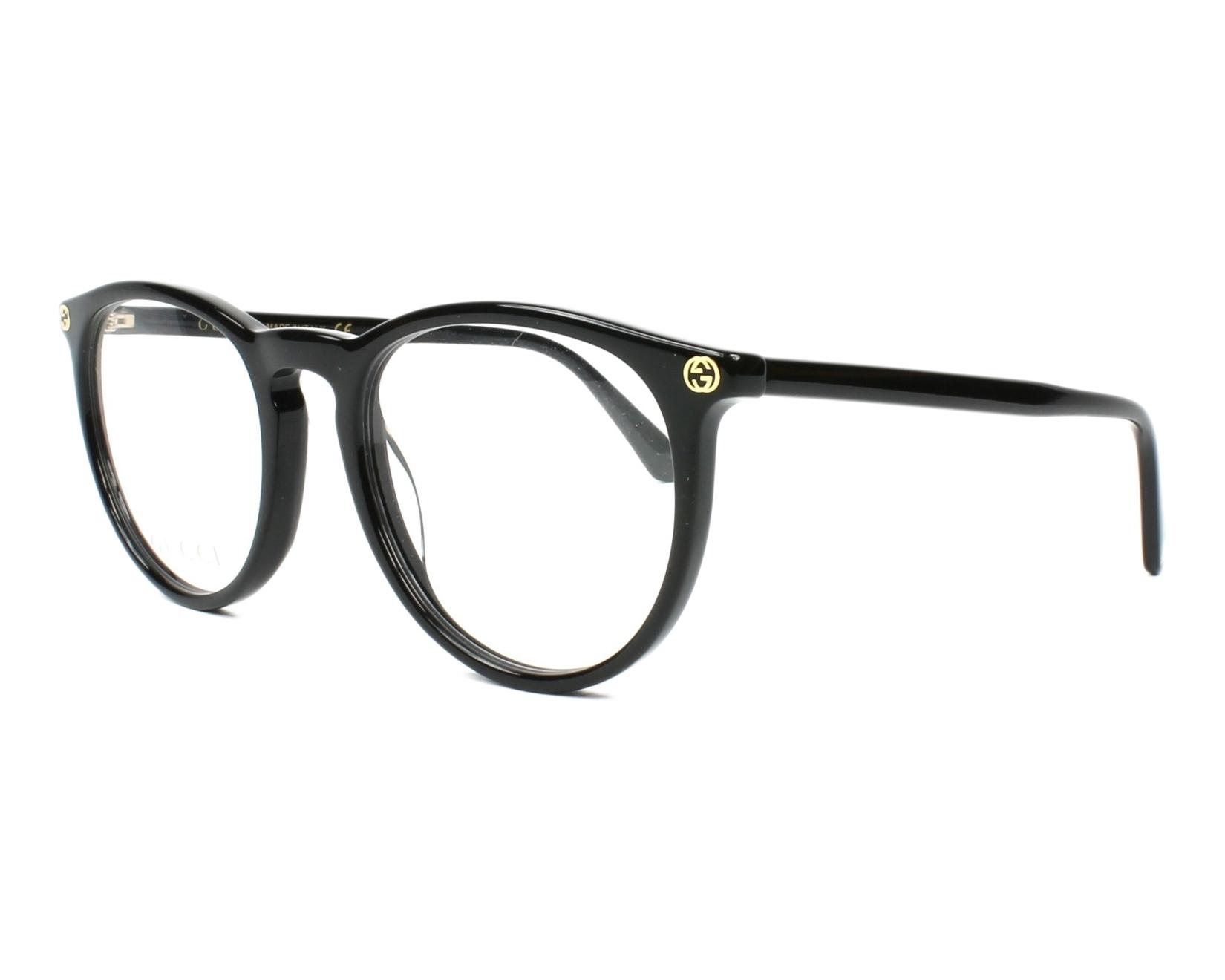 Lunettes de vue Gucci GG-00270 001 50-20 Noir vue de profil 881db236615f