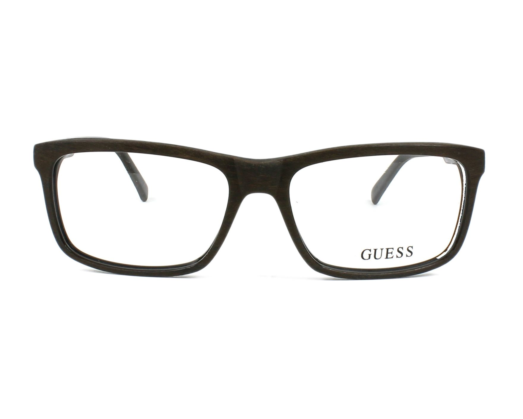 lunettes de vue guess gu 1845 dkbrn marron. Black Bedroom Furniture Sets. Home Design Ideas