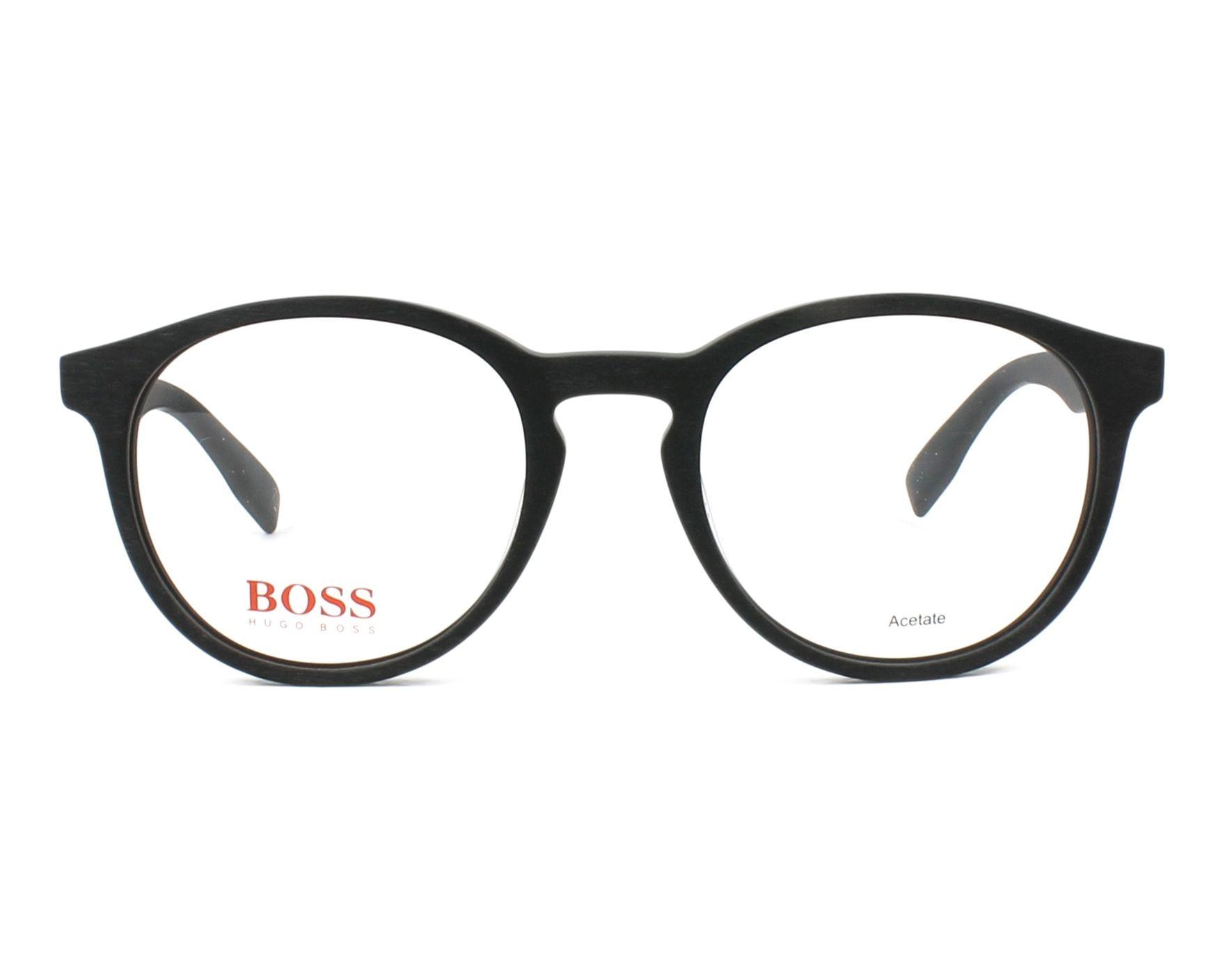 Lunettes de vue Hugo Boss BO-0268 003 50-20 Noir Noir vue de e86f19f58d8c