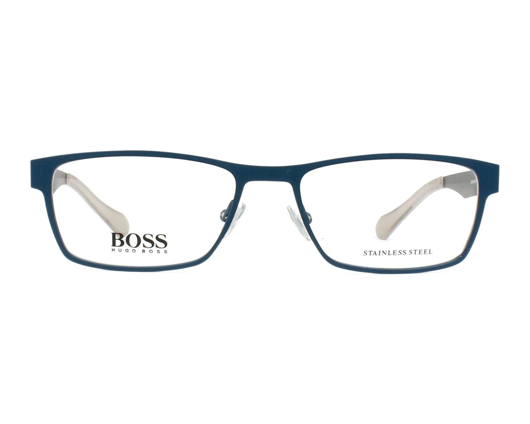 hugo boss brille boss 0873 05q blau visionet. Black Bedroom Furniture Sets. Home Design Ideas