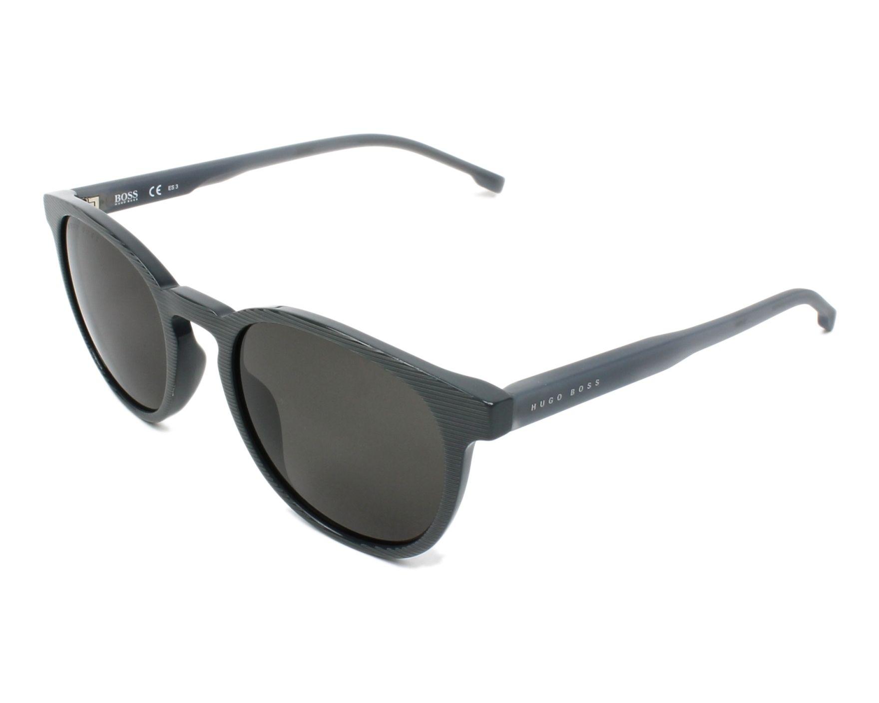 lunettes de soleil hugo boss boss 0922 s pzh ir gris avec des verres gris. Black Bedroom Furniture Sets. Home Design Ideas