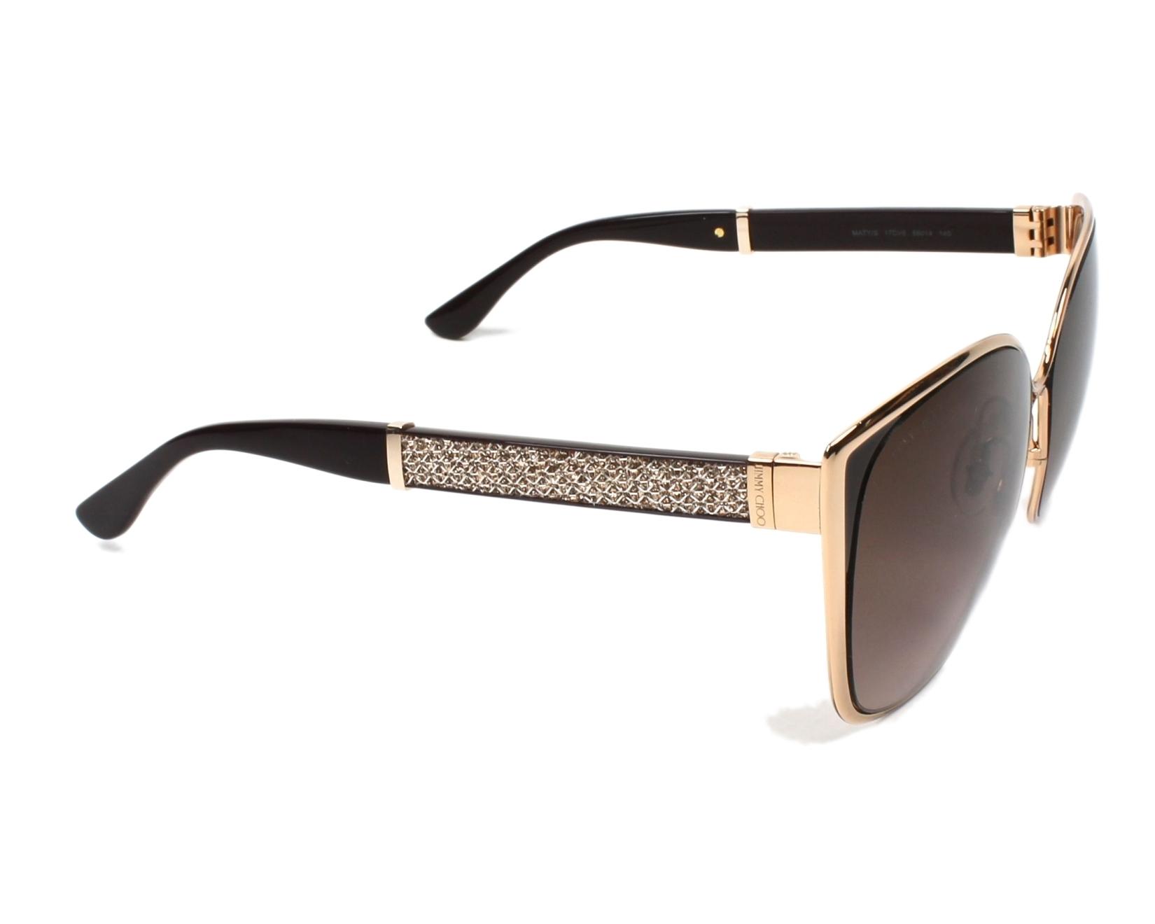 lunettes de soleil de jimmy choo en maty v6