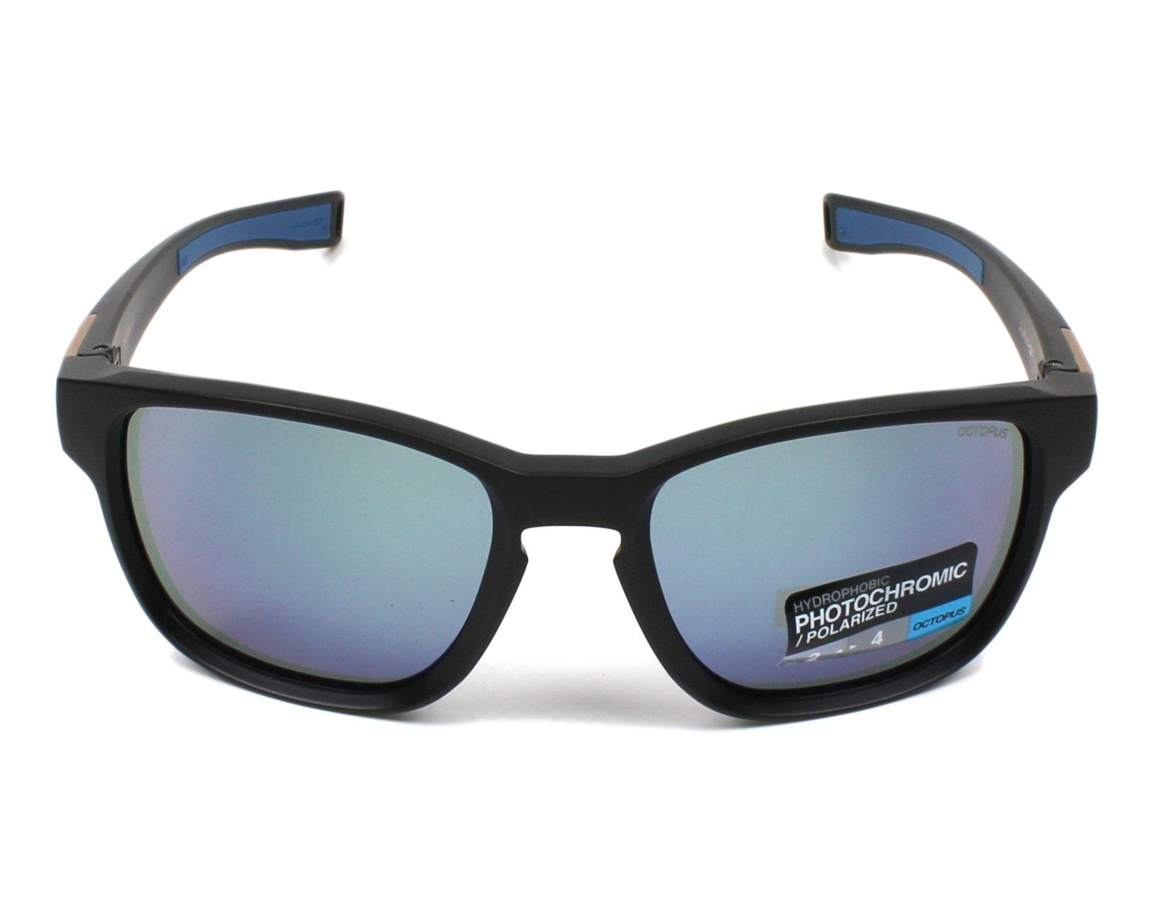Lunettes de soleil julbo j504 8014 noir avec des verres gris - Verre lunette raye assurance ...