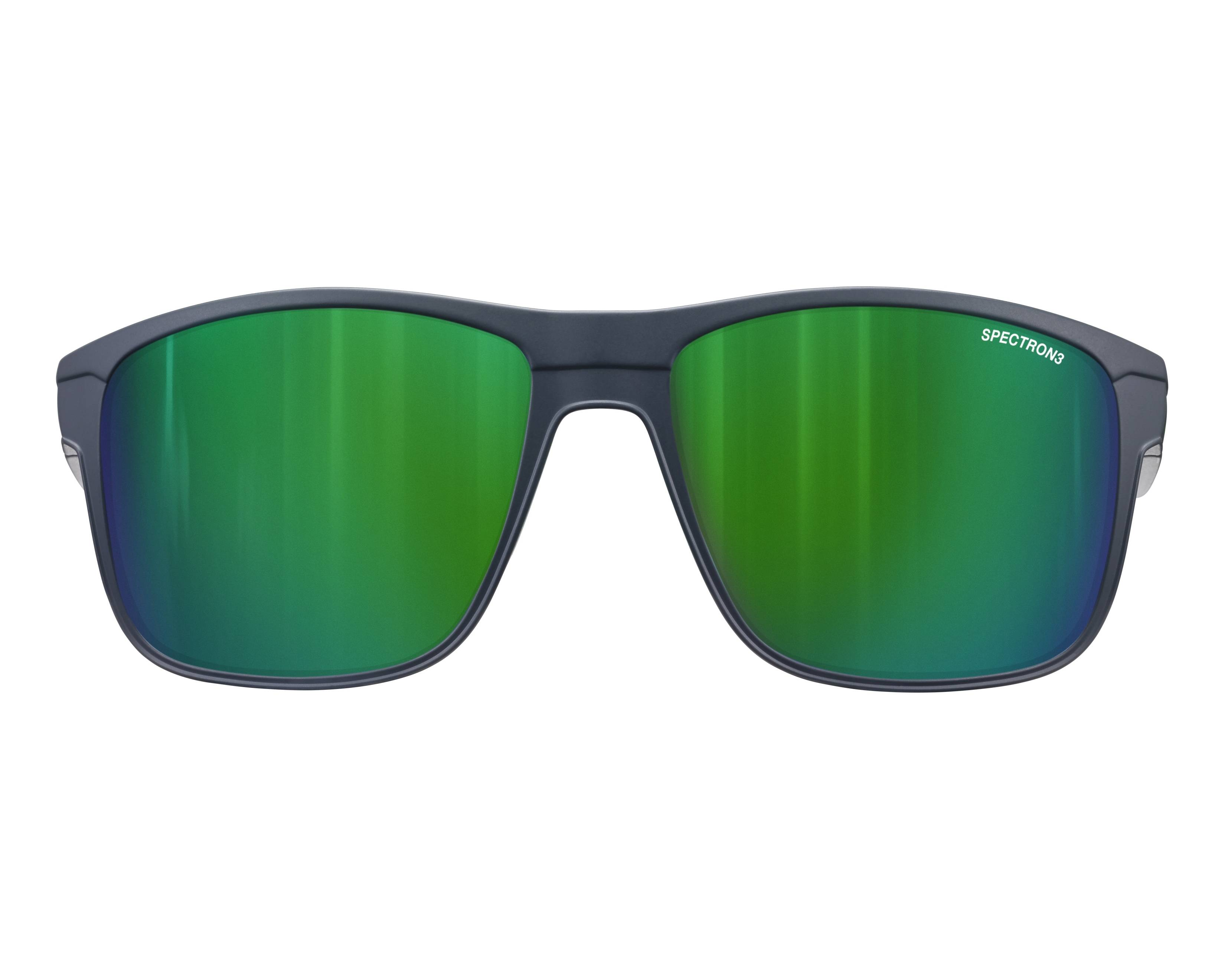 lunettes de soleil julbo j499 1112 bleu avec des verres gris. Black Bedroom Furniture Sets. Home Design Ideas