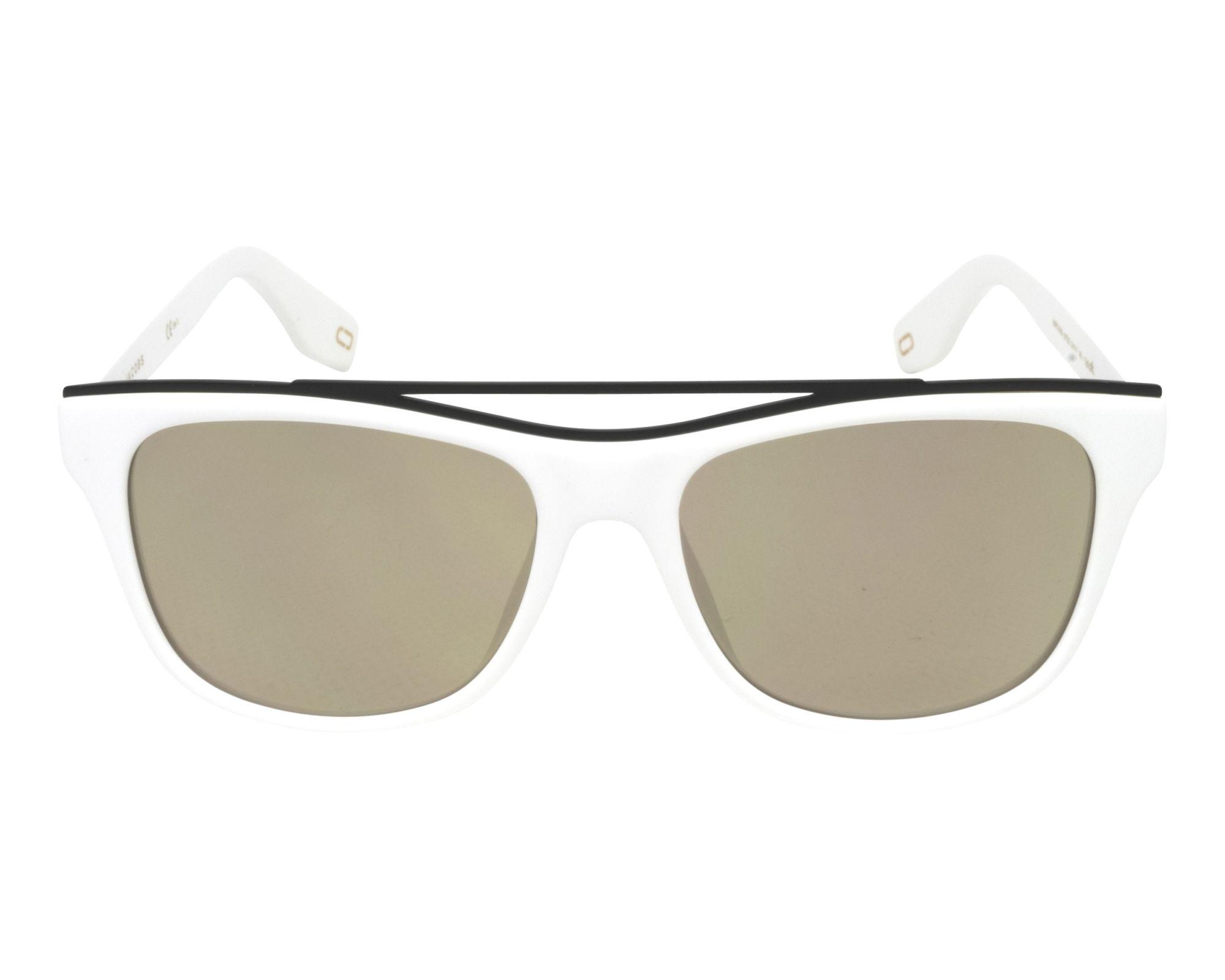 MARC JACOBS Marc Jacobs Sonnenbrille » MARC 303/S«, weiß, 6HT/UE - weiß/ weiß