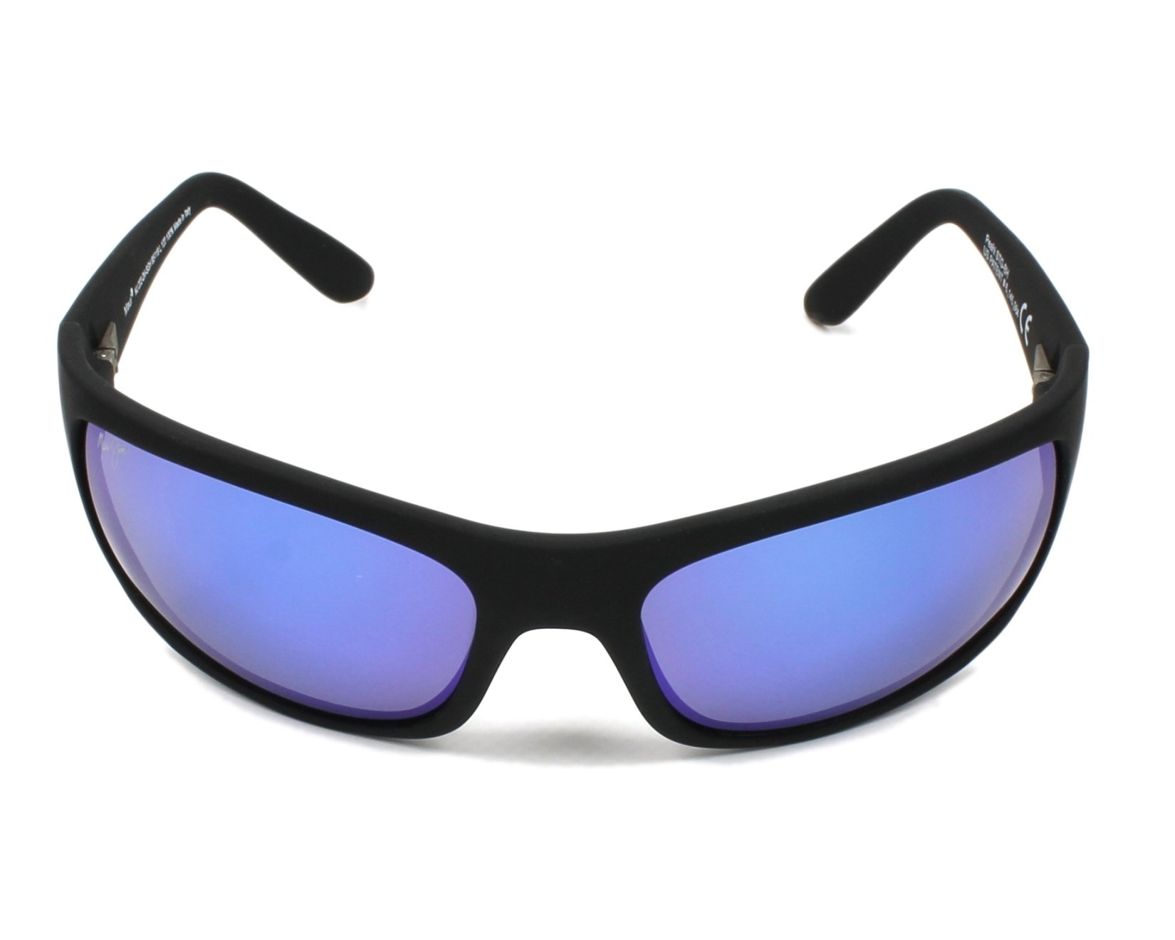 Lunettes de soleil maui jim b 202 2m noir avec des verres for Miroir 2m