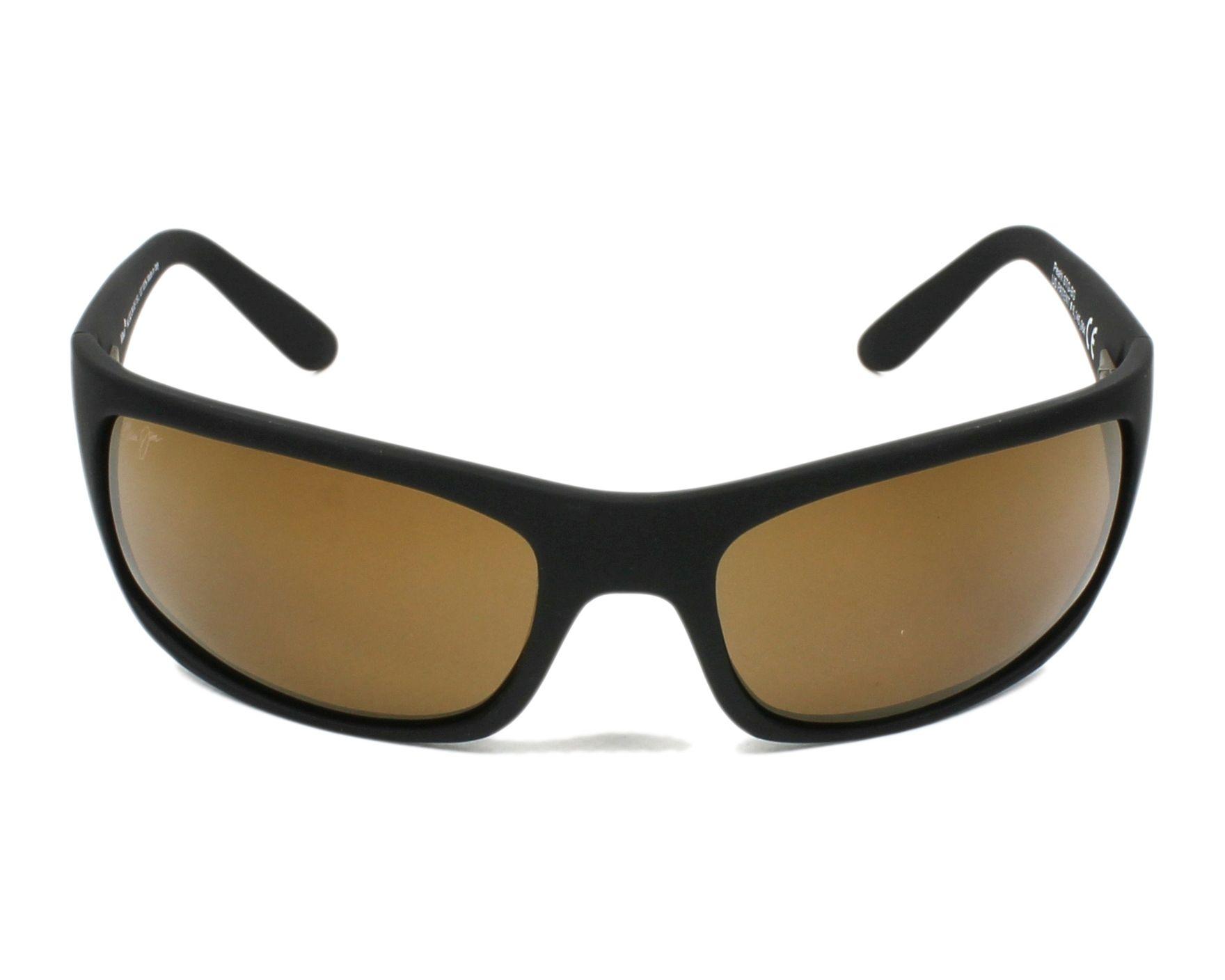 Lunettes de soleil maui jim h 202 2m noir avec des verres for Miroir 2m
