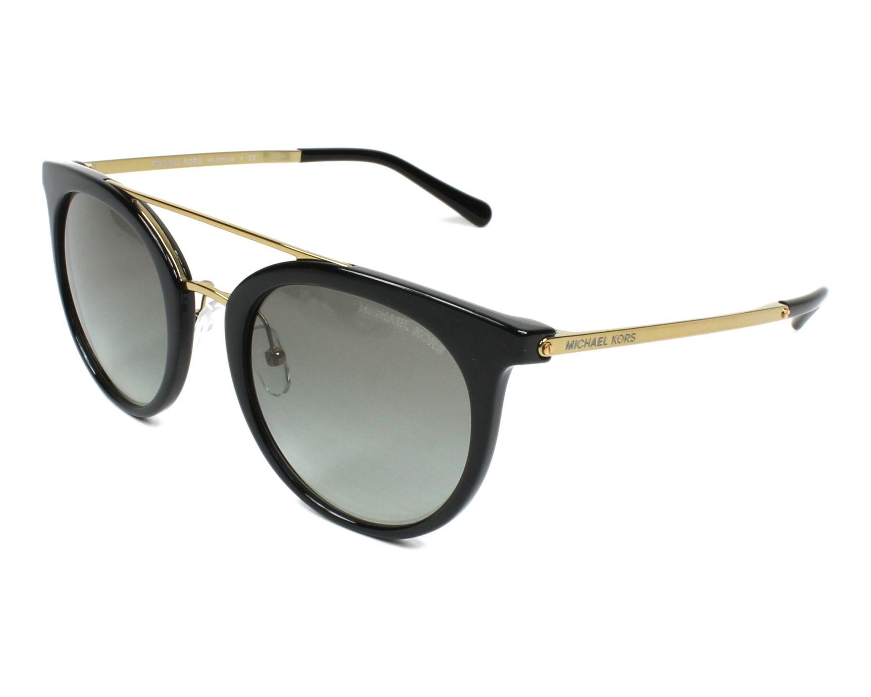 lunettes de soleil michael kors mk 2056 326911 noir avec des verres. Black Bedroom Furniture Sets. Home Design Ideas