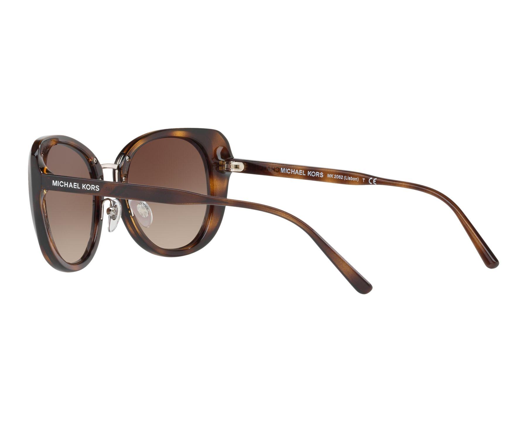lunettes de soleil michael kors mk 2062 328513 havane pas cher visionet. Black Bedroom Furniture Sets. Home Design Ideas