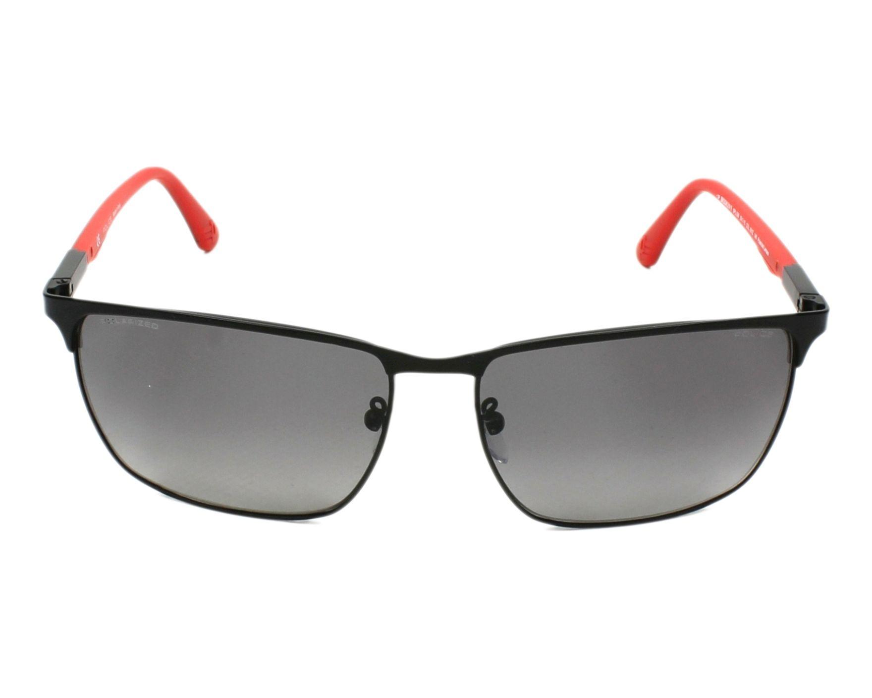 lunettes de soleil police spl 539 531z noir avec des verres gris pour hommes. Black Bedroom Furniture Sets. Home Design Ideas