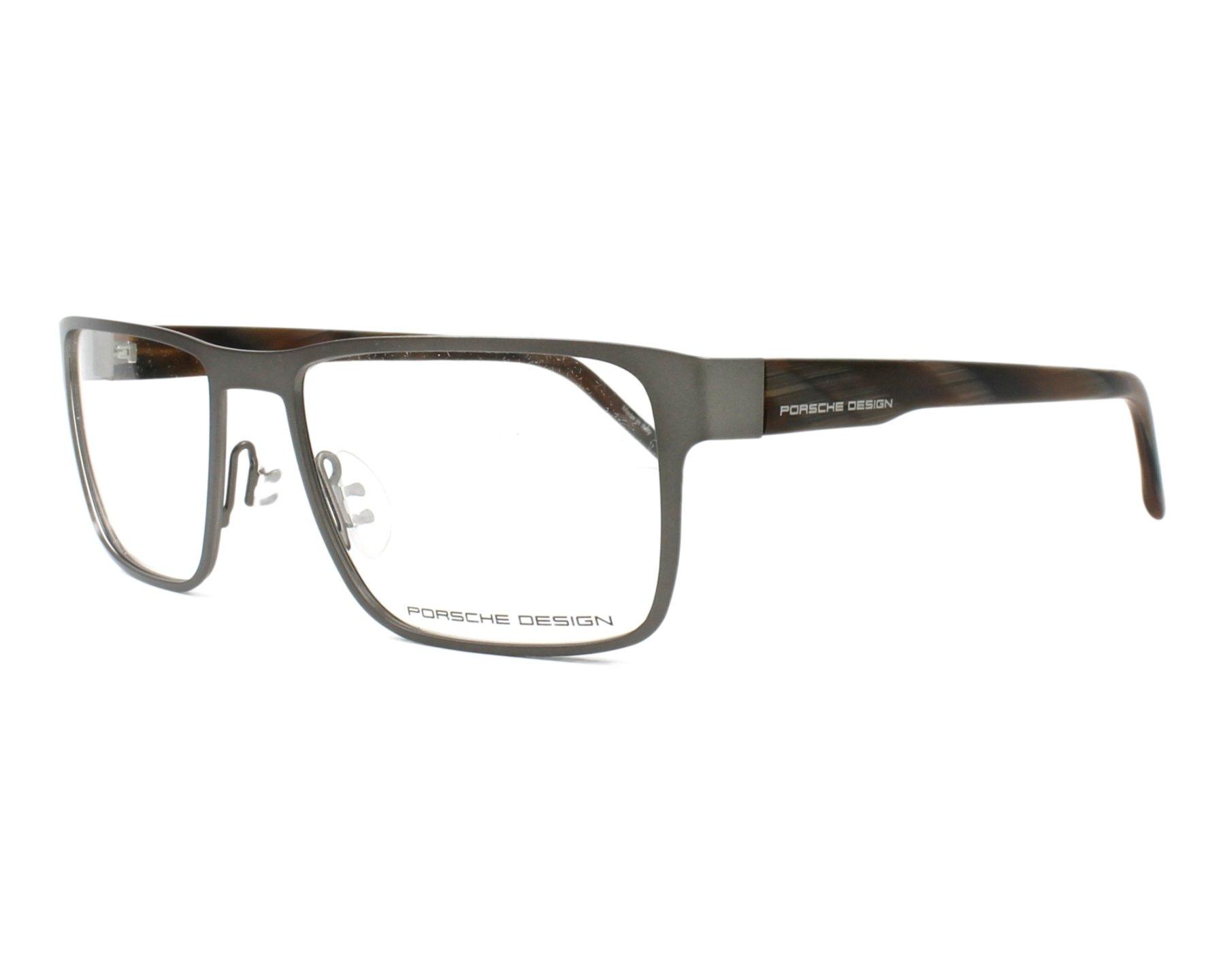 lunettes de vue porsche design p 8292 b gunmetal. Black Bedroom Furniture Sets. Home Design Ideas