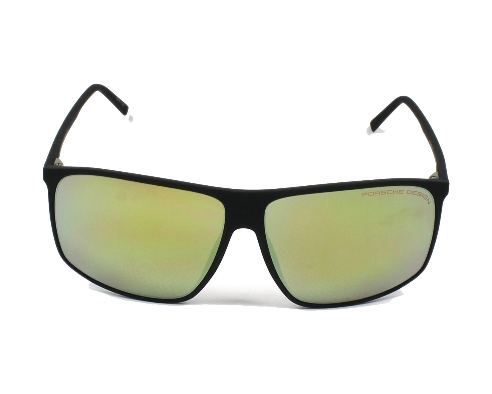 lunettes de soleil porsche design p 8594 a noir avec des verres gris pour hommes. Black Bedroom Furniture Sets. Home Design Ideas