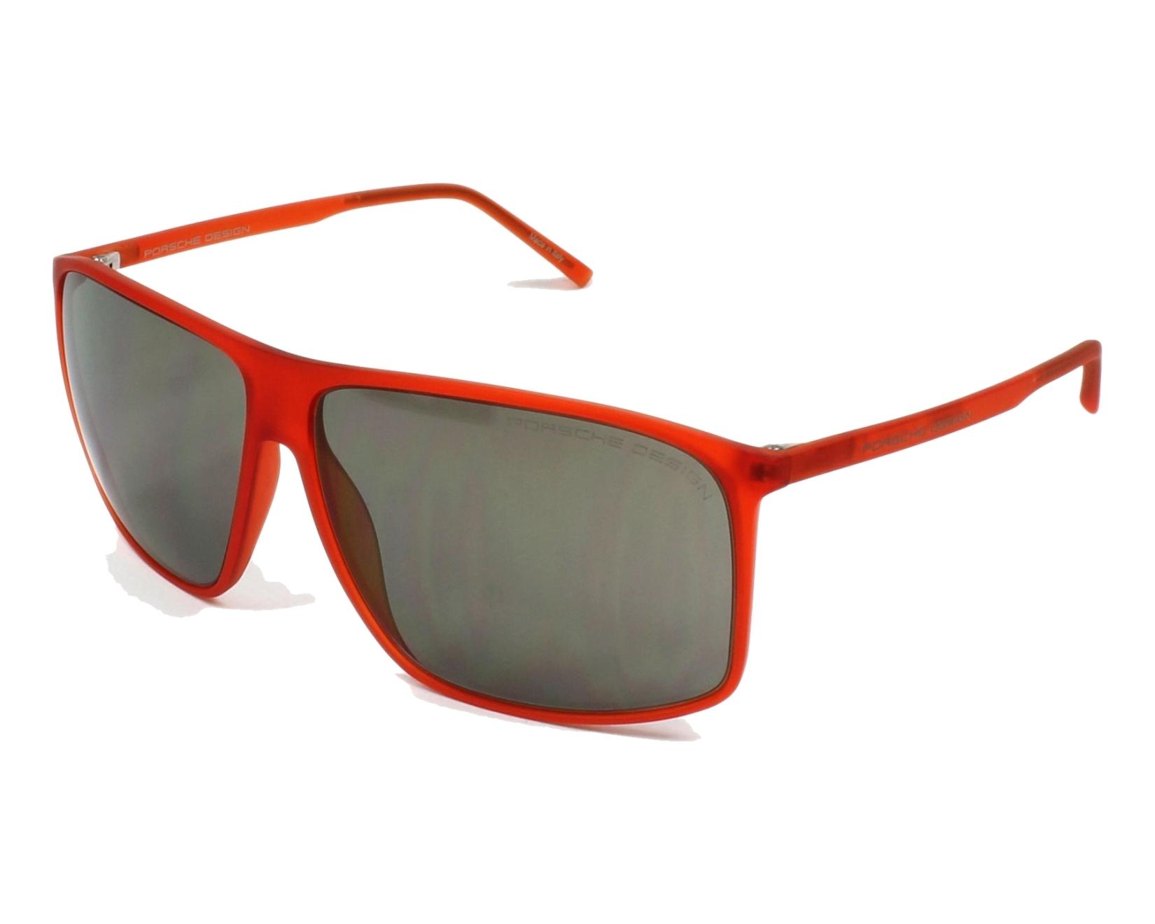 lunettes de soleil porsche design p 8594 c orange avec des verres gris pour hommes. Black Bedroom Furniture Sets. Home Design Ideas