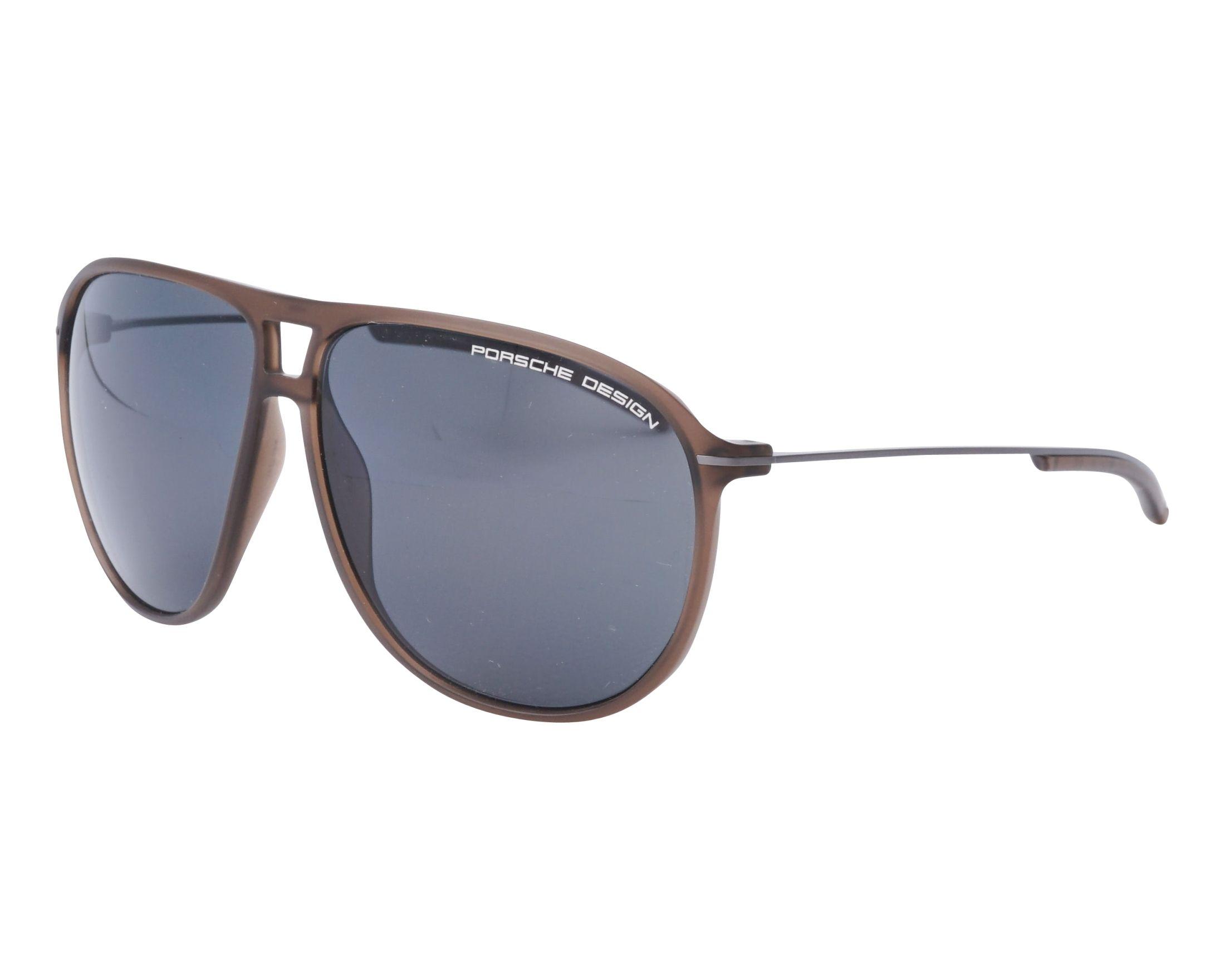 lunettes de soleil porsche design p 8635 b marron visionet. Black Bedroom Furniture Sets. Home Design Ideas