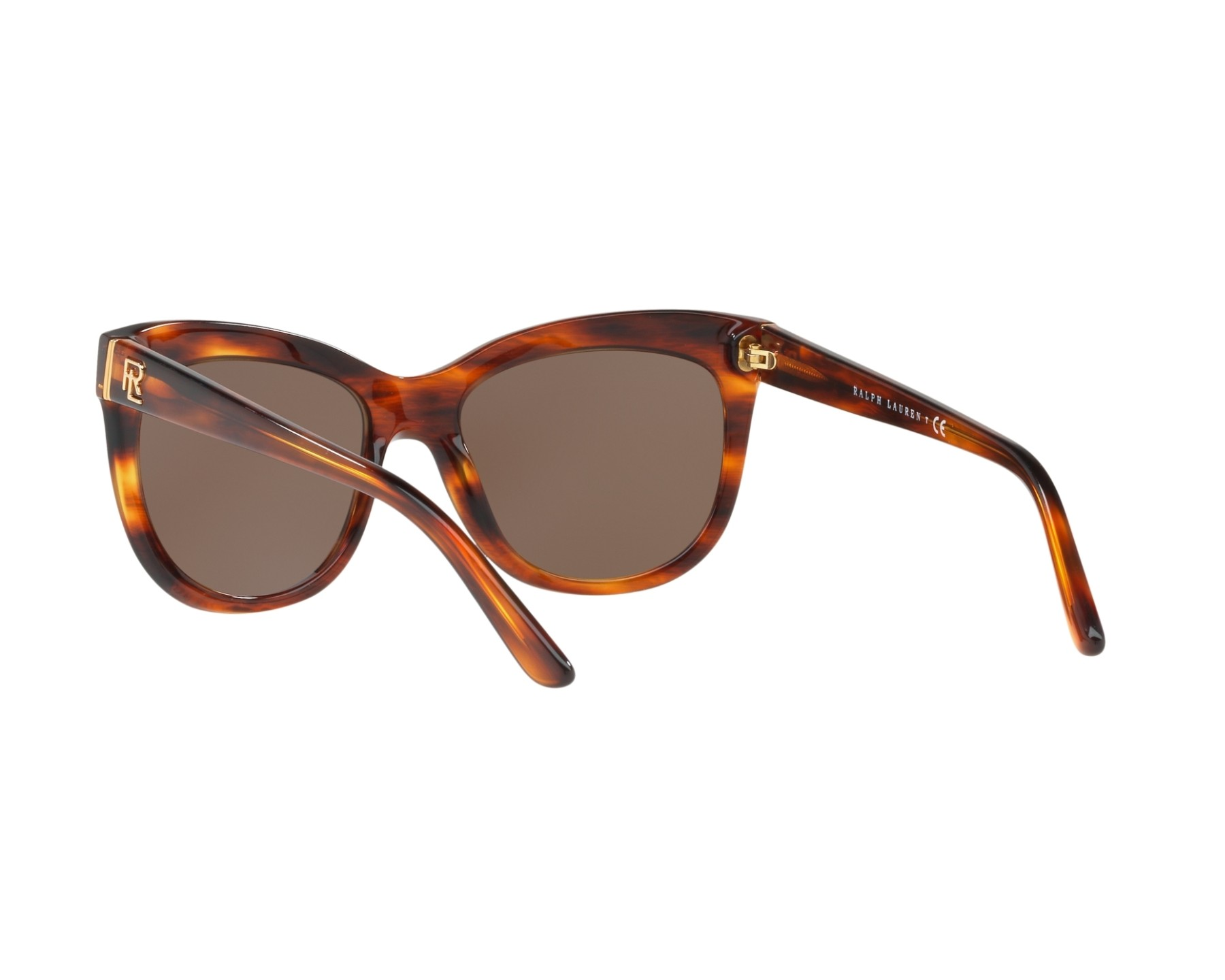 lunettes de soleil ralph lauren rl 8158 500773 marron avec. Black Bedroom Furniture Sets. Home Design Ideas