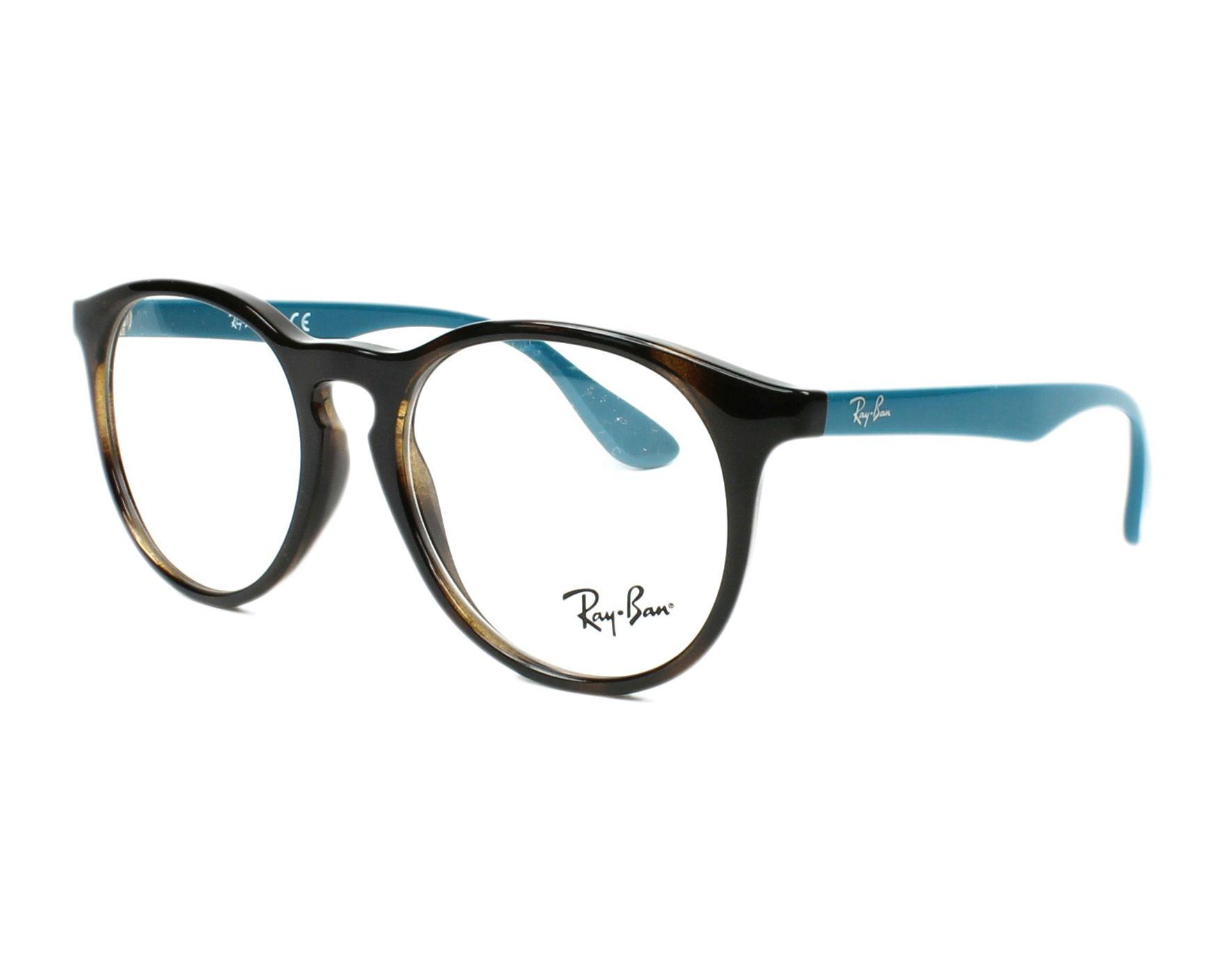 ray ban brille schwarz türkis