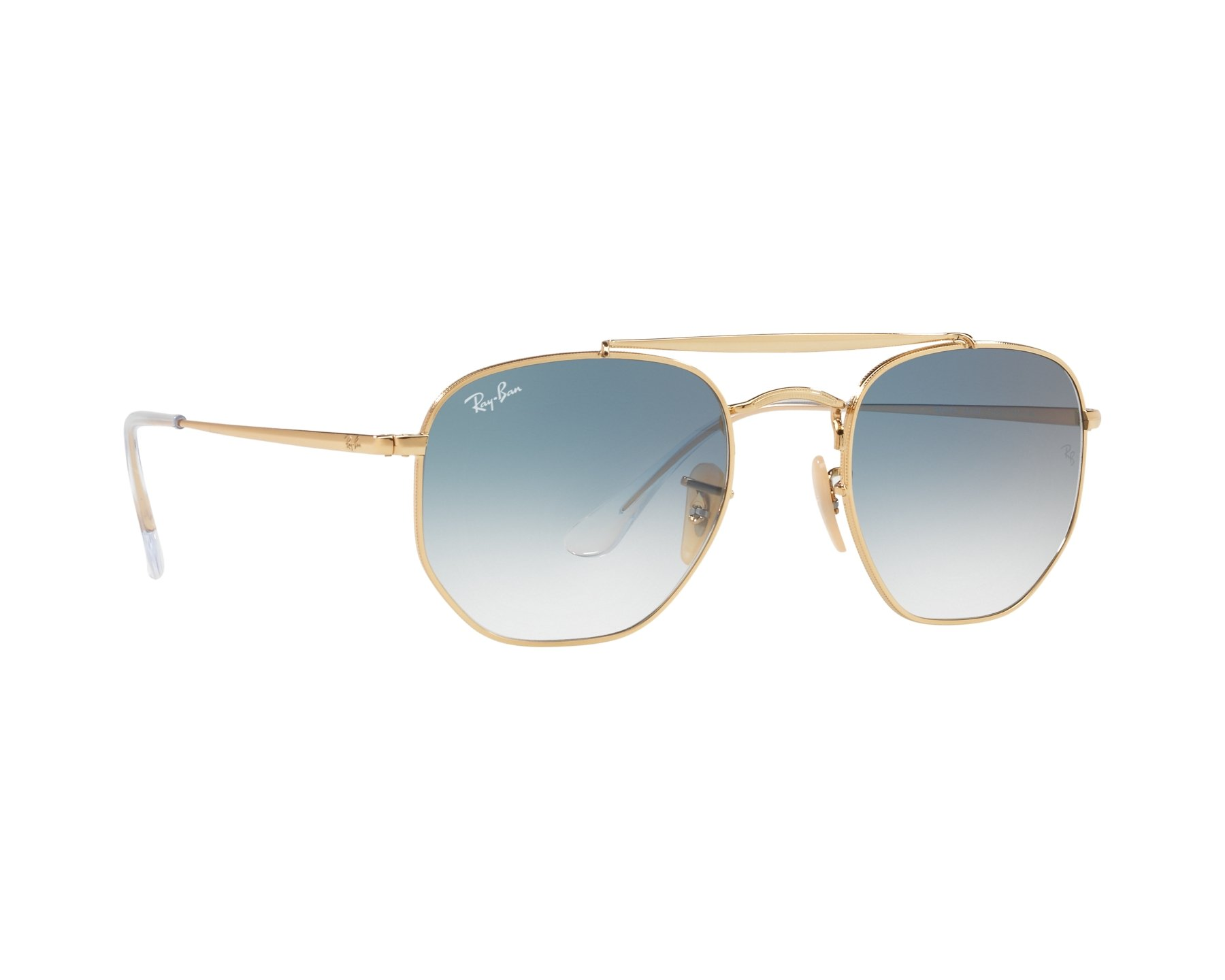 Lunettes de soleil Ray-Ban RB-3648 001 3F 54-21 Or 412adeb236c5