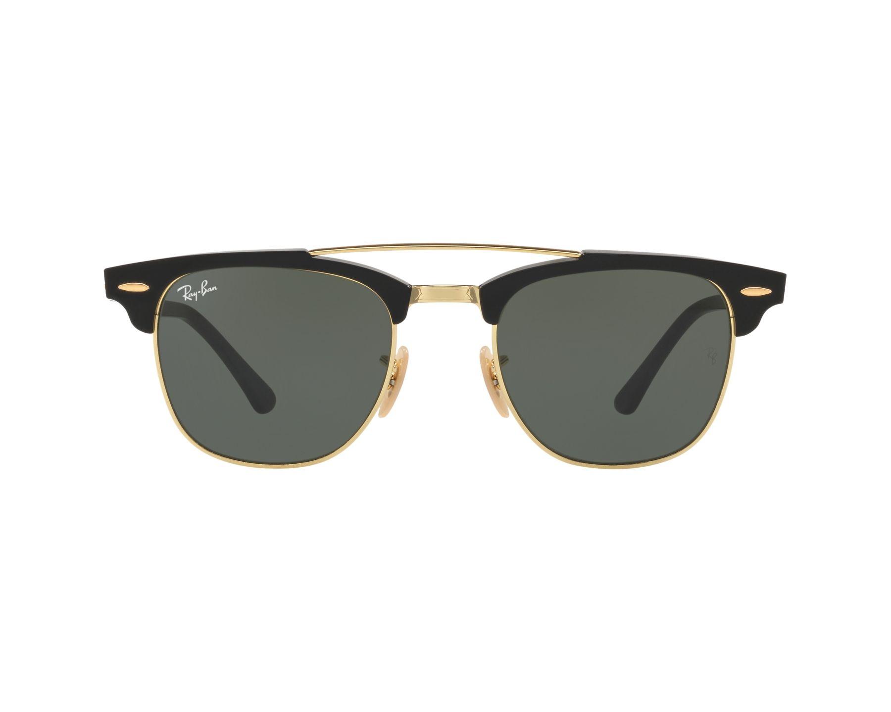 ray ban sonnenbrille schwarz gold