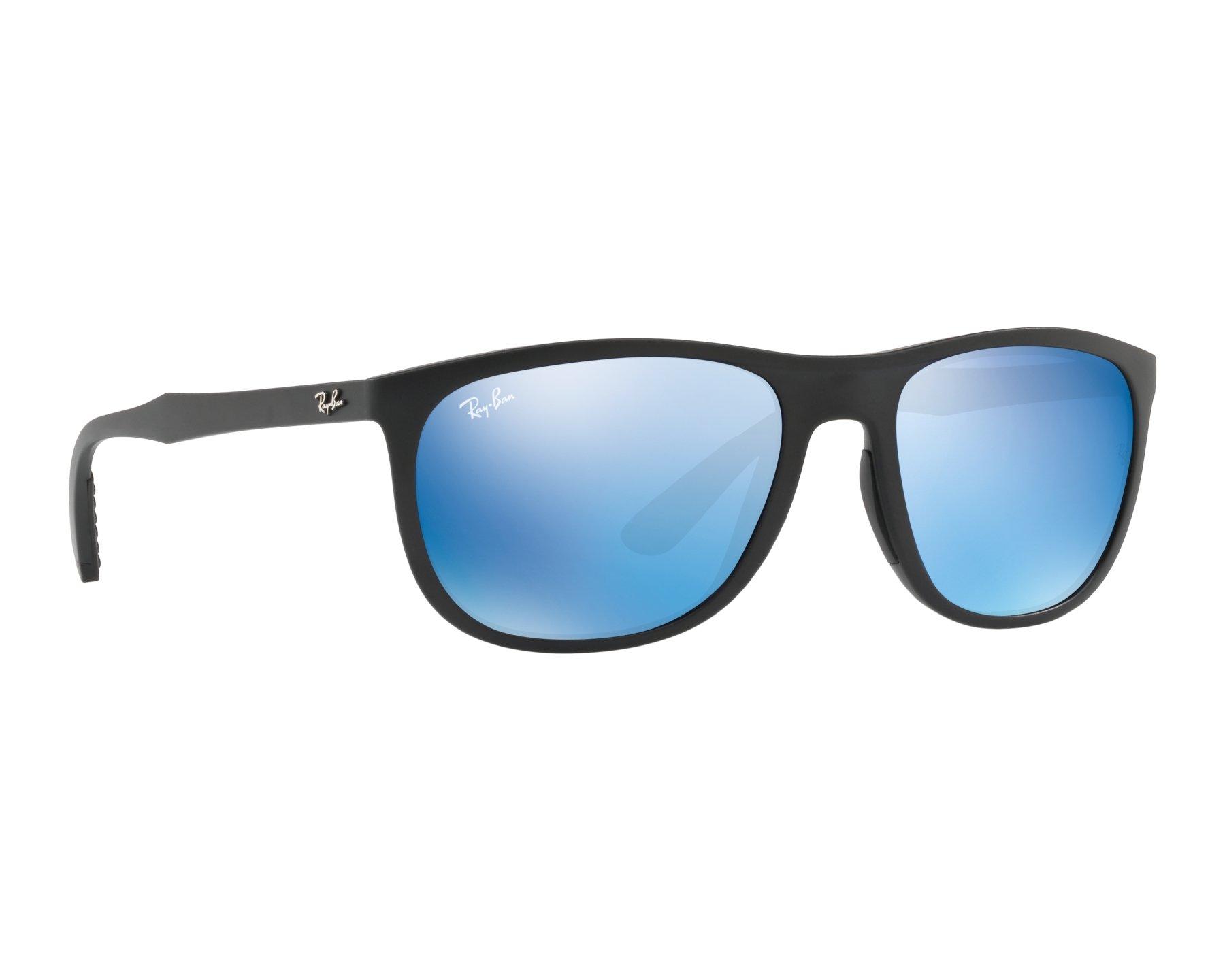 lunettes de soleil ray ban rb 4291 601s55 noir avec des verres gris. Black Bedroom Furniture Sets. Home Design Ideas