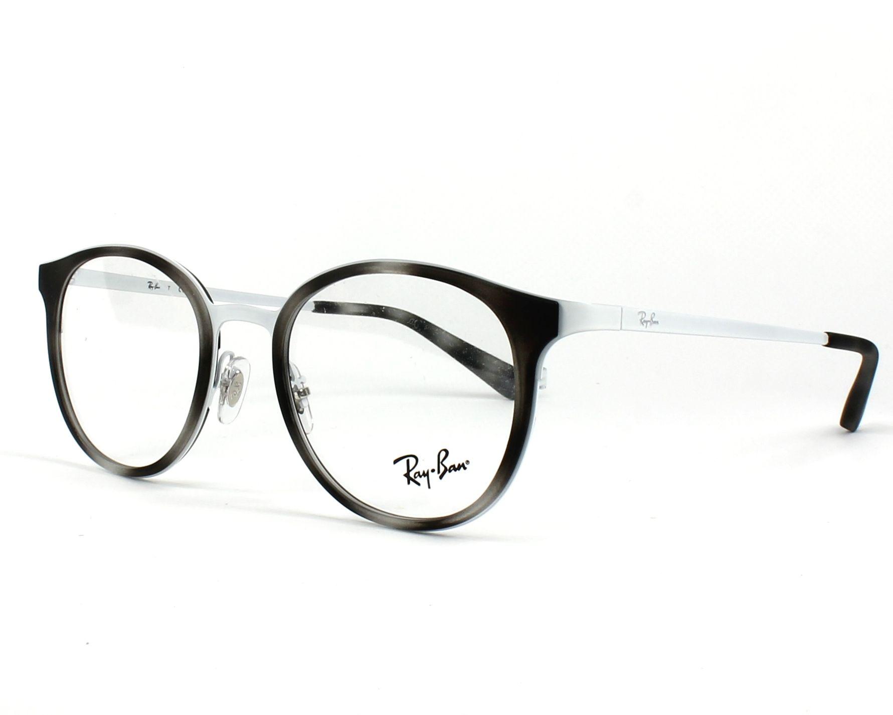 lunette de vue ray ban grise