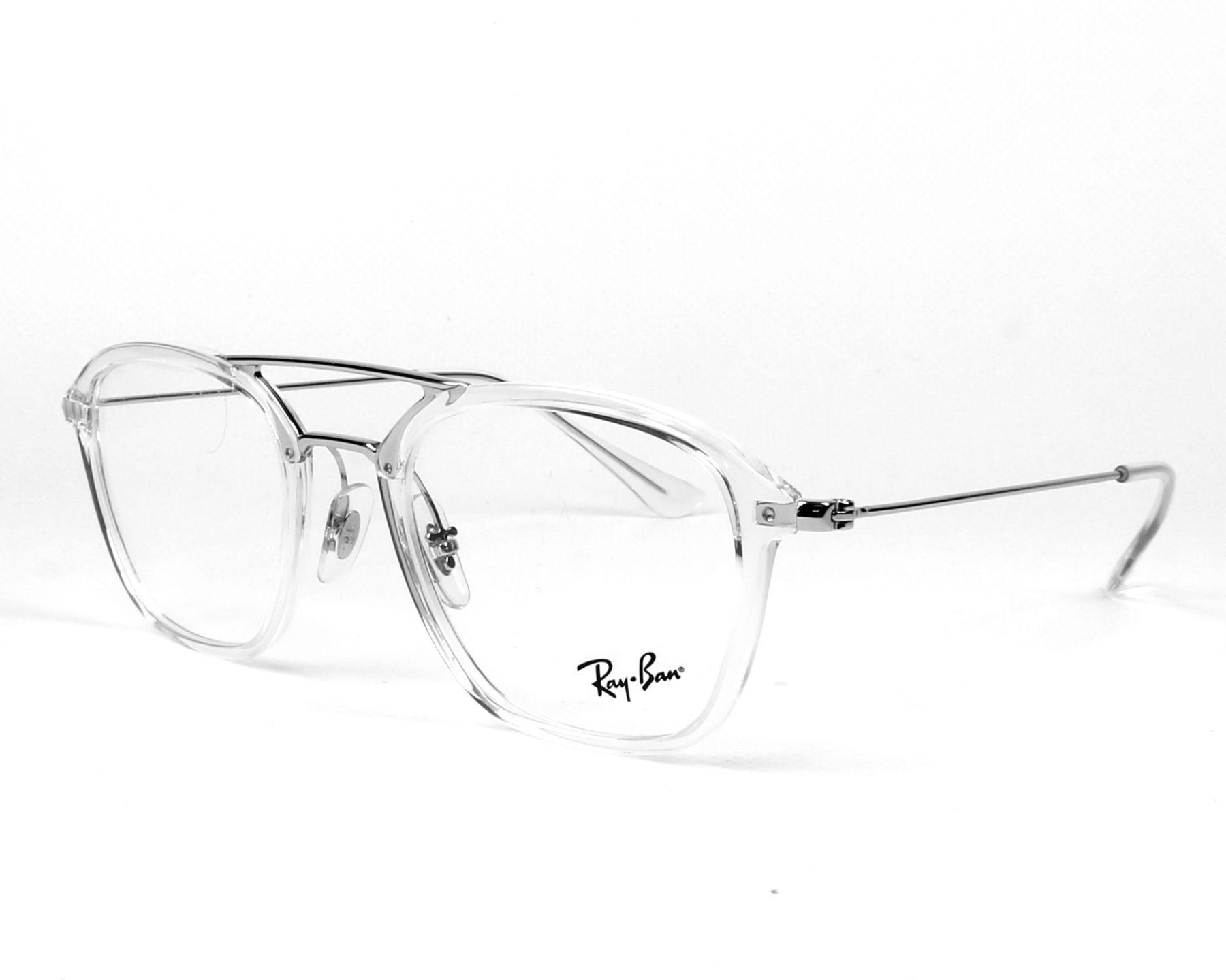 achat lunettes de vue ray ban rx 7098 2001 visionet. Black Bedroom Furniture Sets. Home Design Ideas