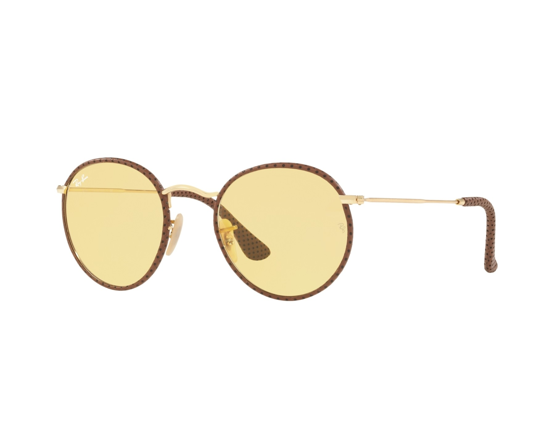 Ray ban sonnenbrille rb 3475 q 90424a gold kupfer visionet for Ray ban craft round