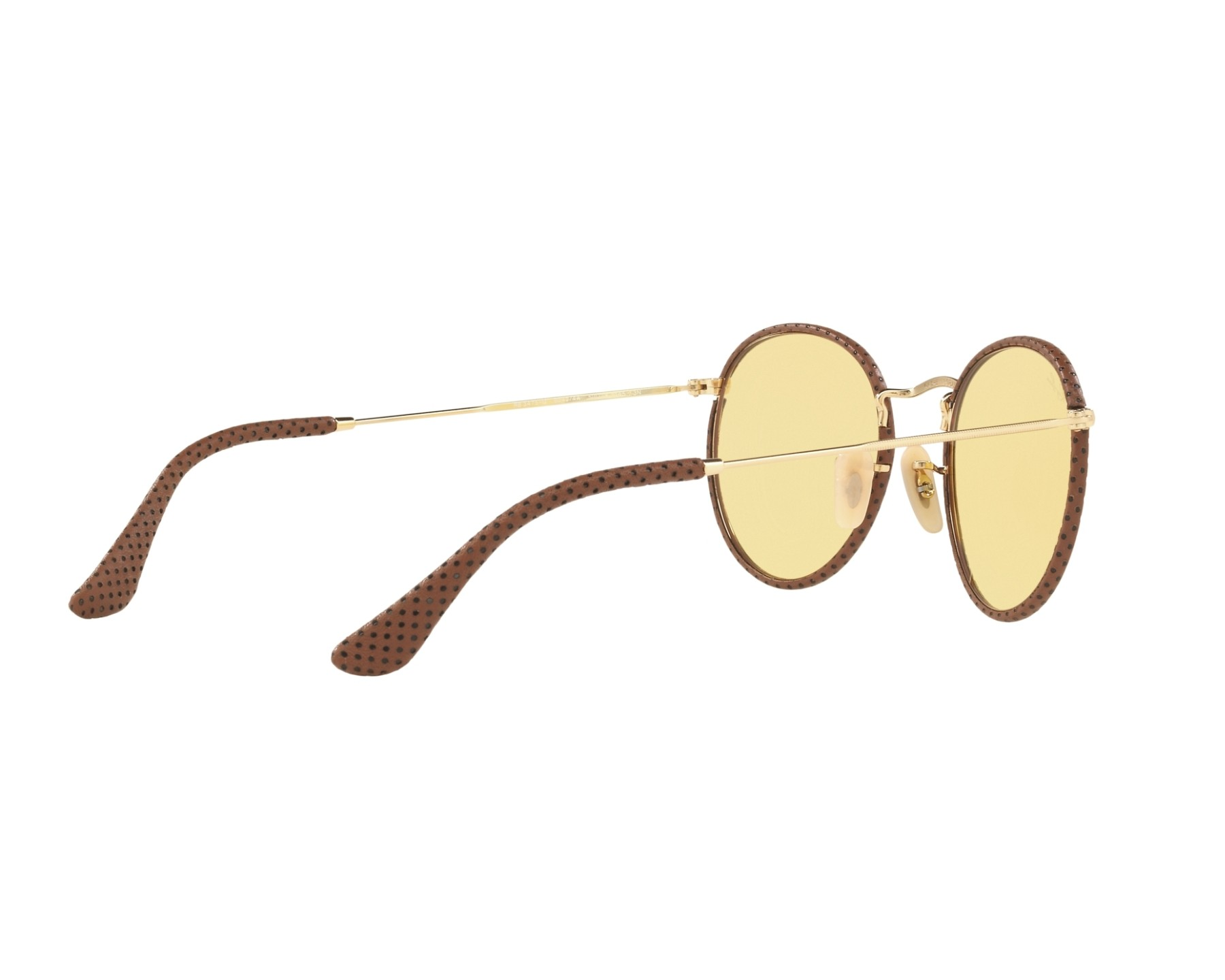 Ray ban sonnenbrille rb 3475 q 90424a gold kupfer visionet for Ray ban round craft
