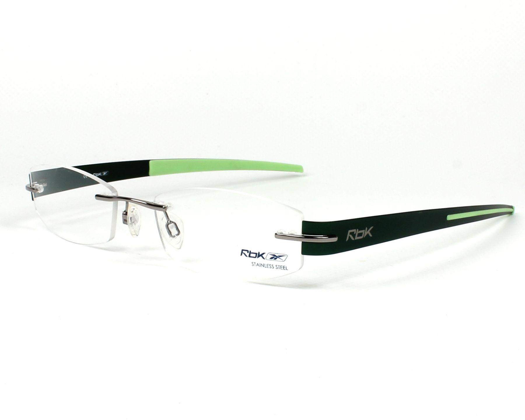 reebok lunettes femme verte