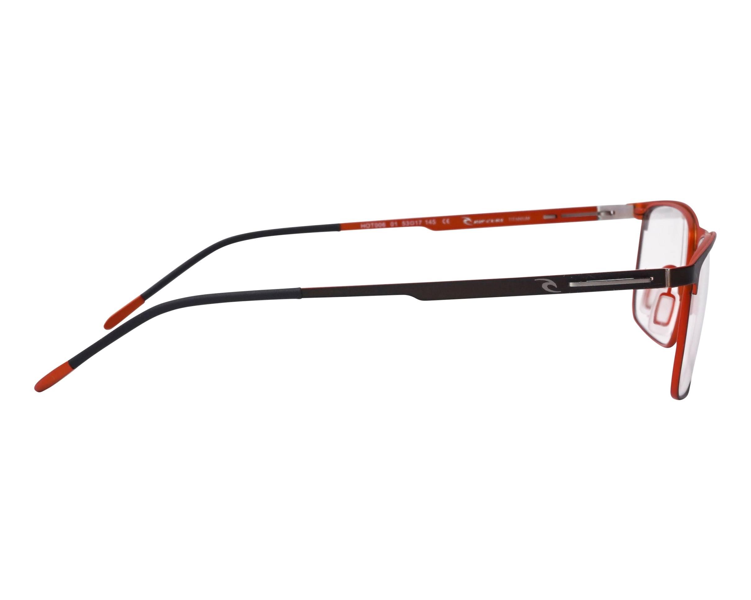 Adulte Rip Curl Lunettes en Argent /& Rouge brillante Design VOM104 Nouveau RRP £ 79