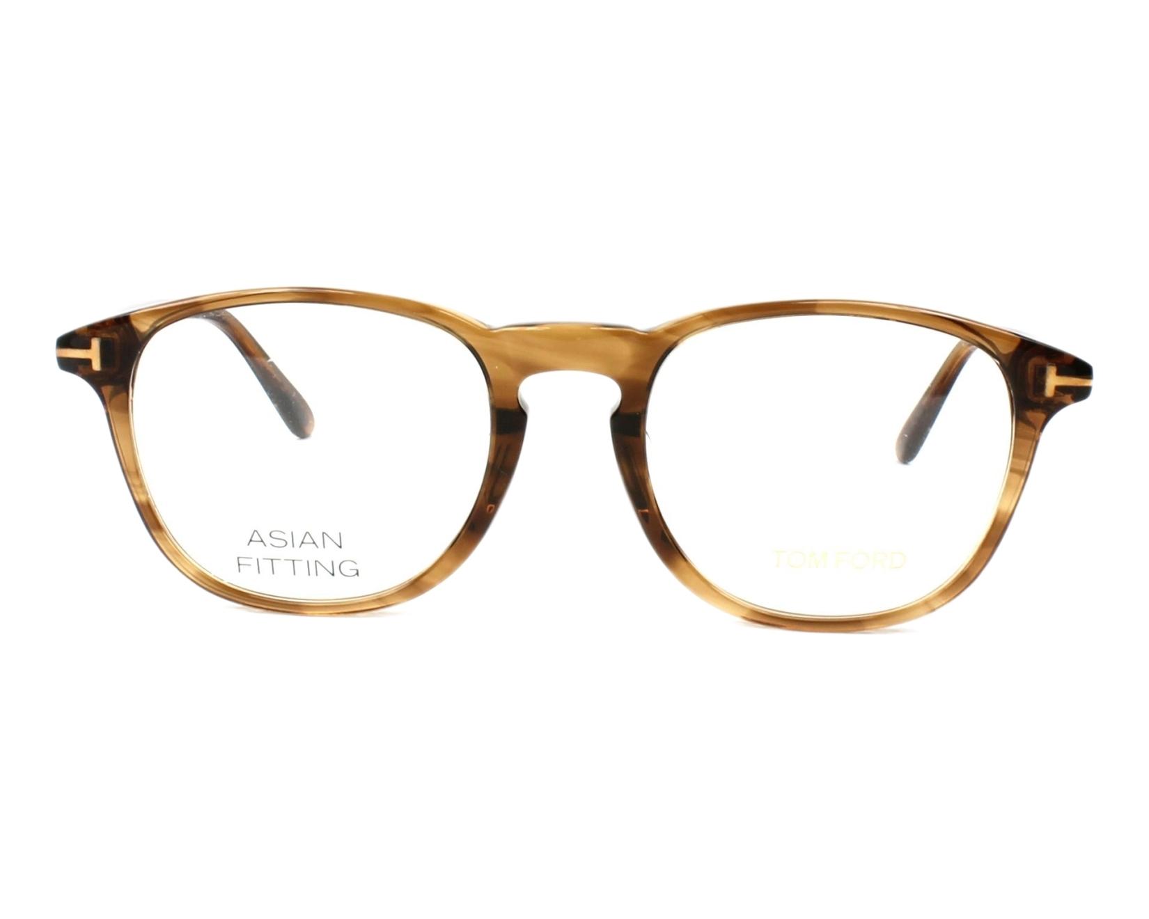 tom ford eyeglasses tf 5389 048 brown visionet. Black Bedroom Furniture Sets. Home Design Ideas